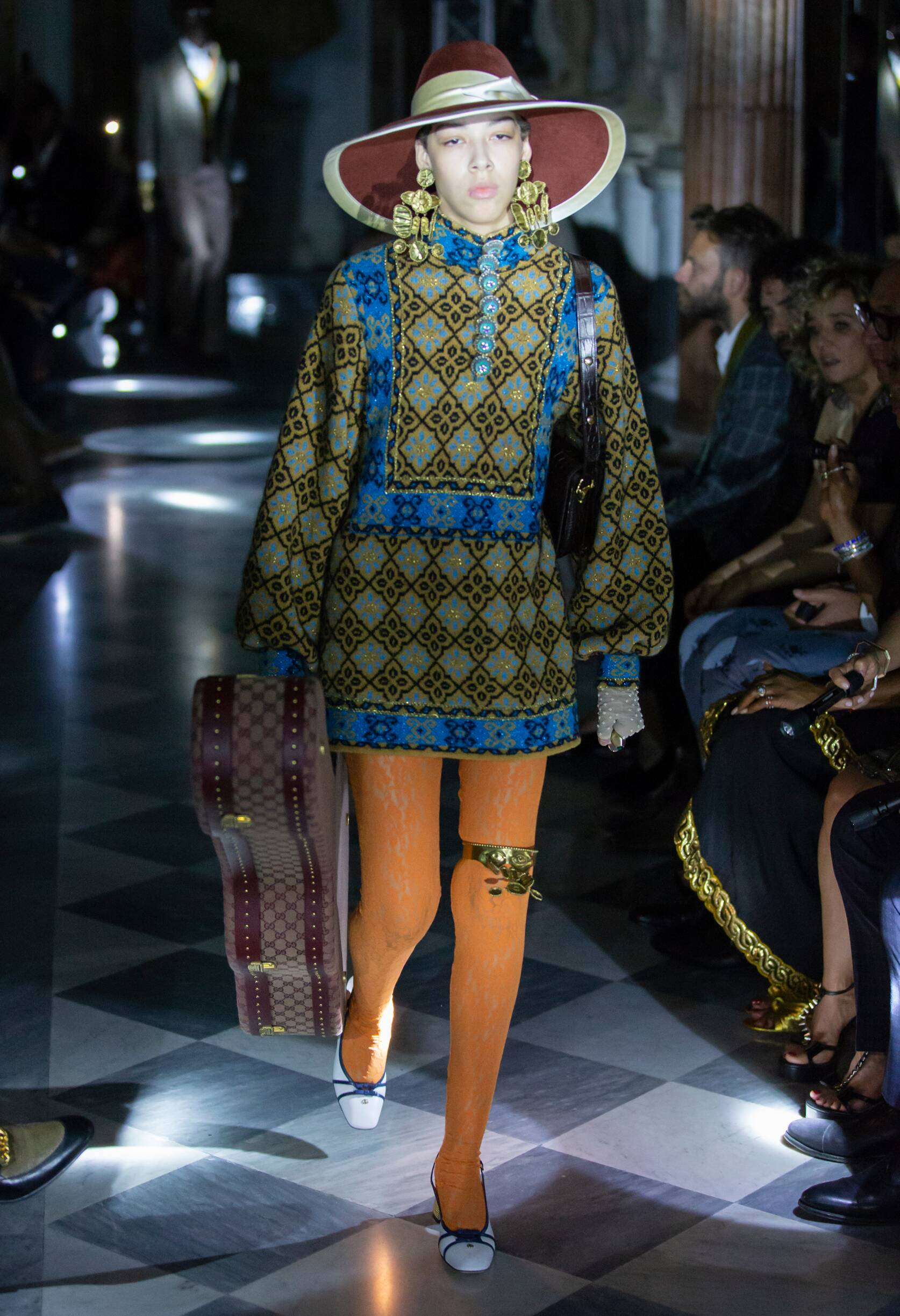 Gucci Cruise 2020 Collection Look 39 Rome