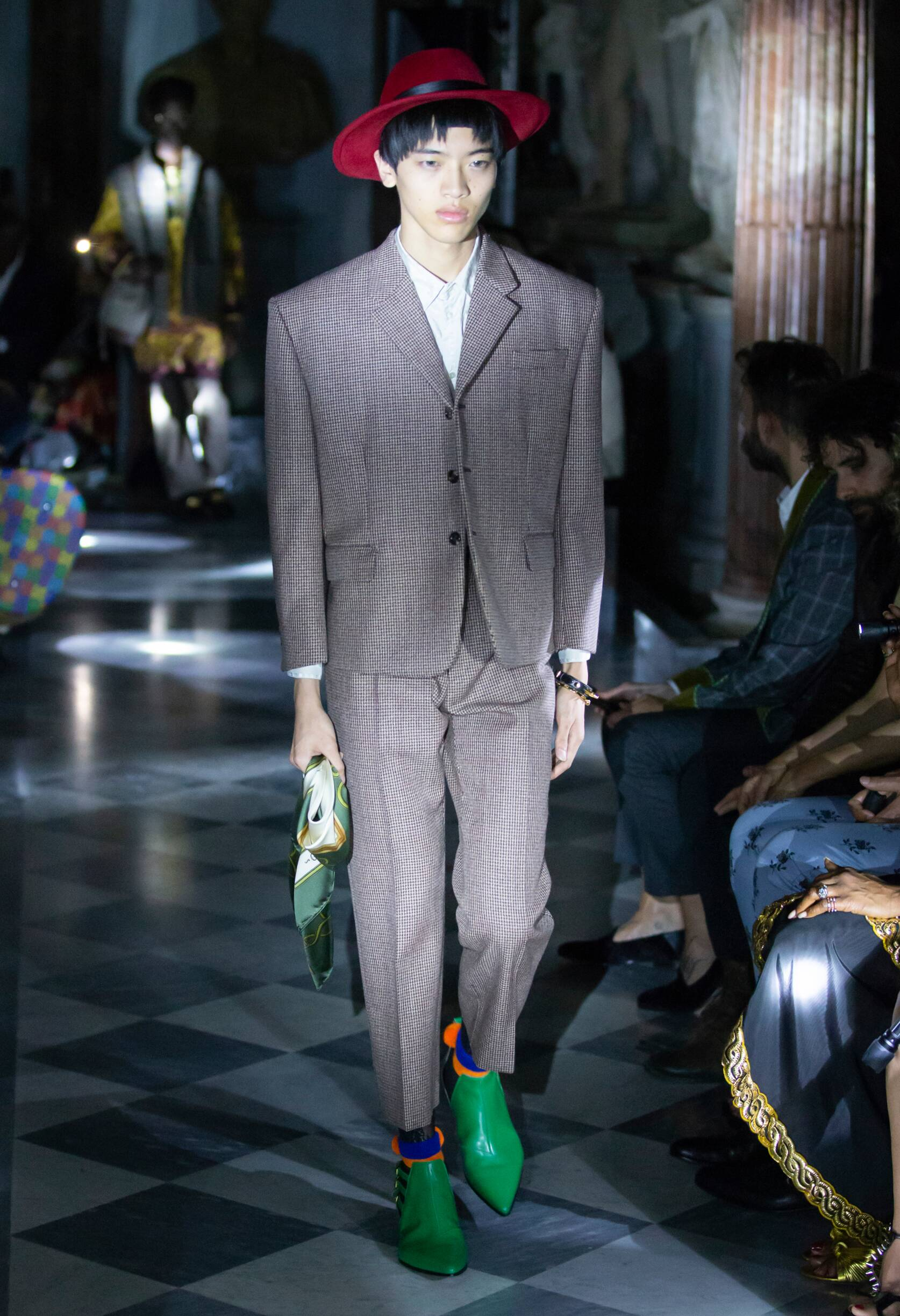Gucci Cruise 2020 Collection Look 45 Rome