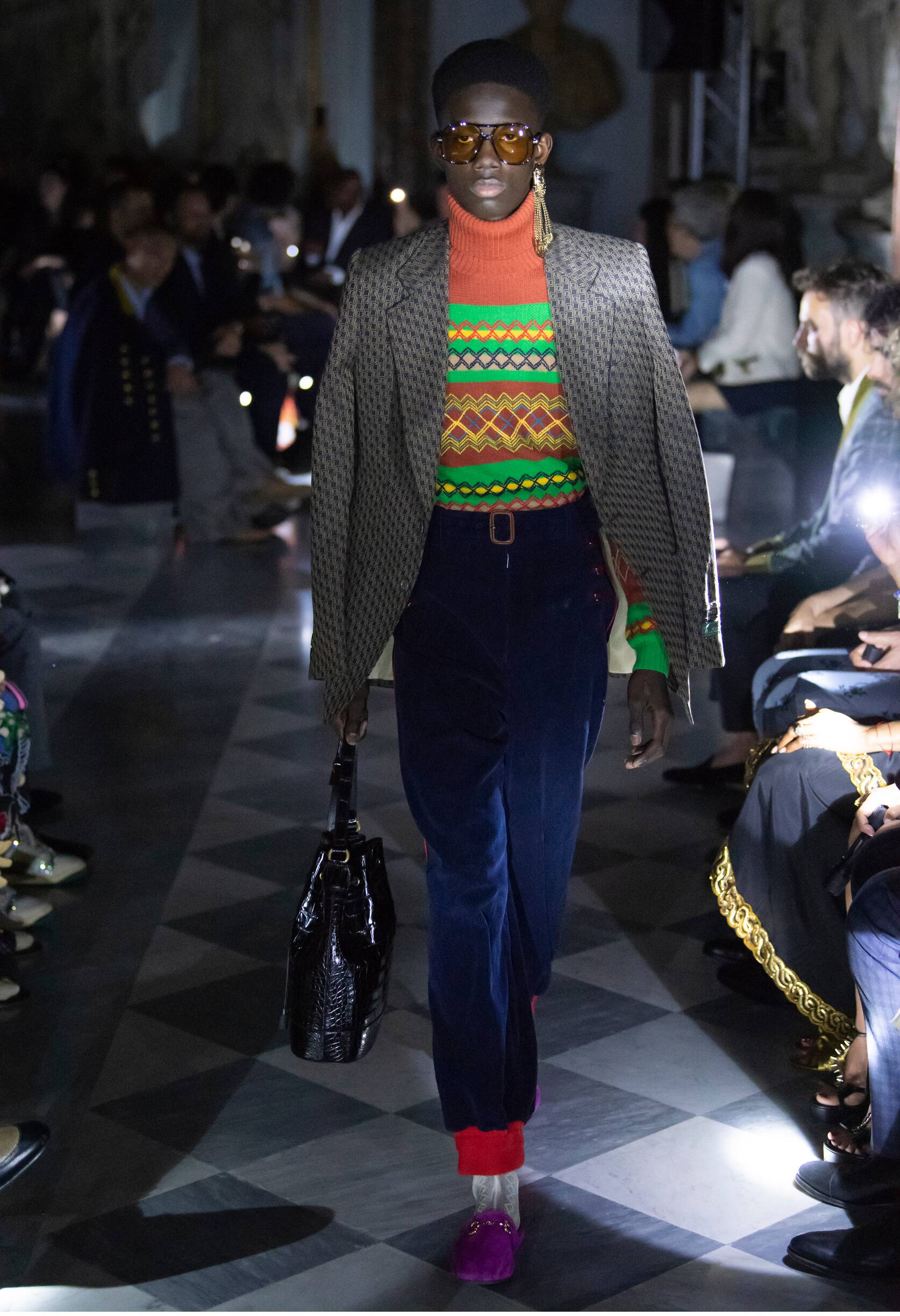 Gucci Cruise 2020 Collection Look 48 Rome