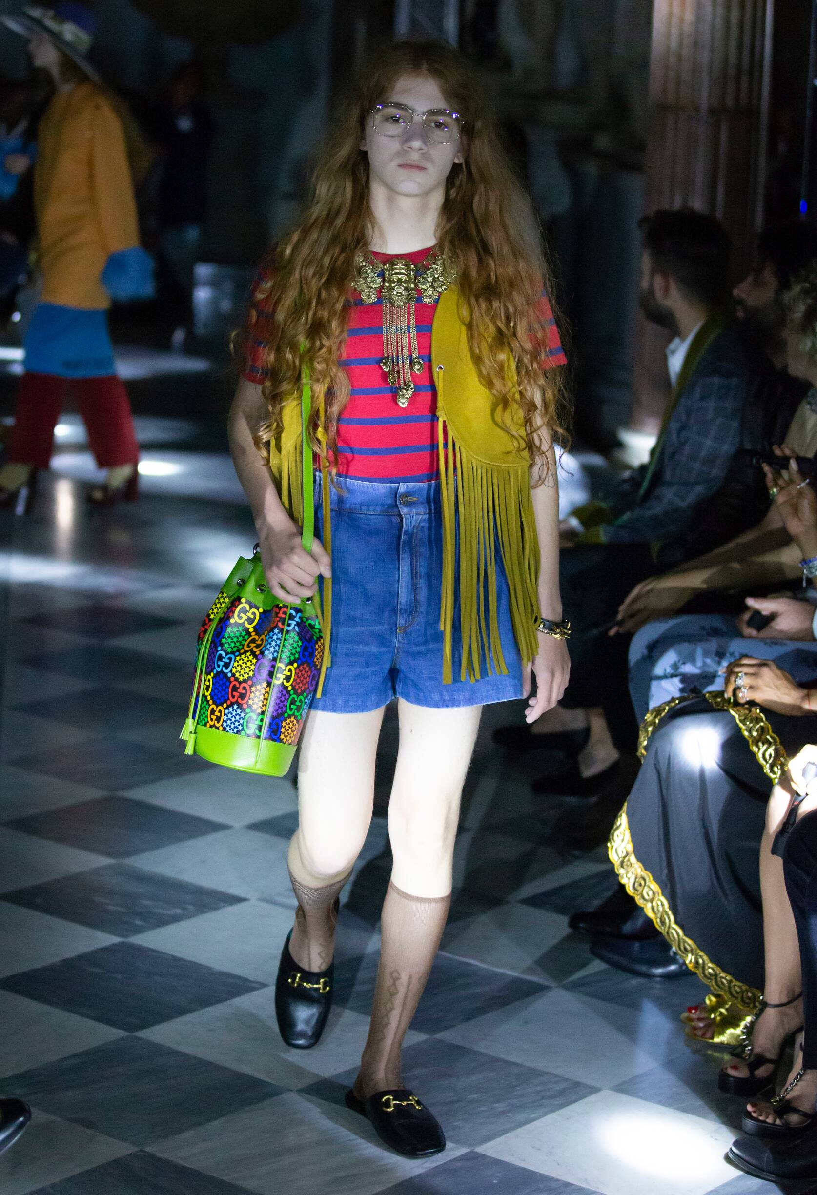 Gucci Cruise 2020 Collection Look 75 Rome