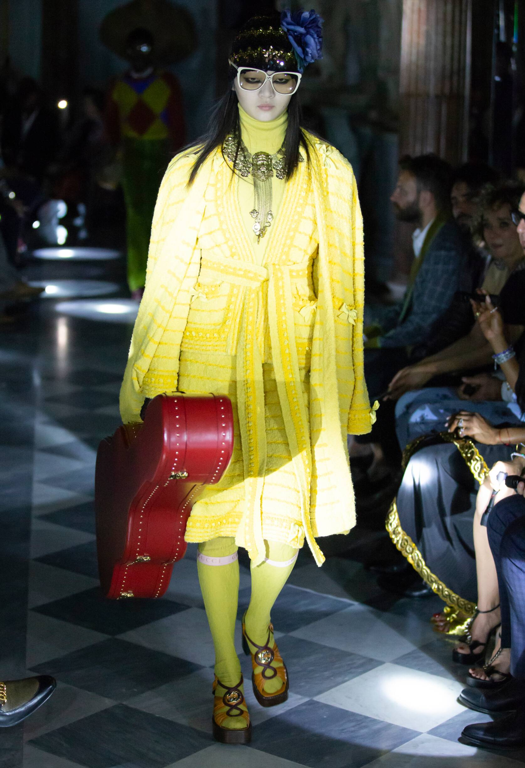 Gucci Cruise 2020 Collection Look 77 Rome