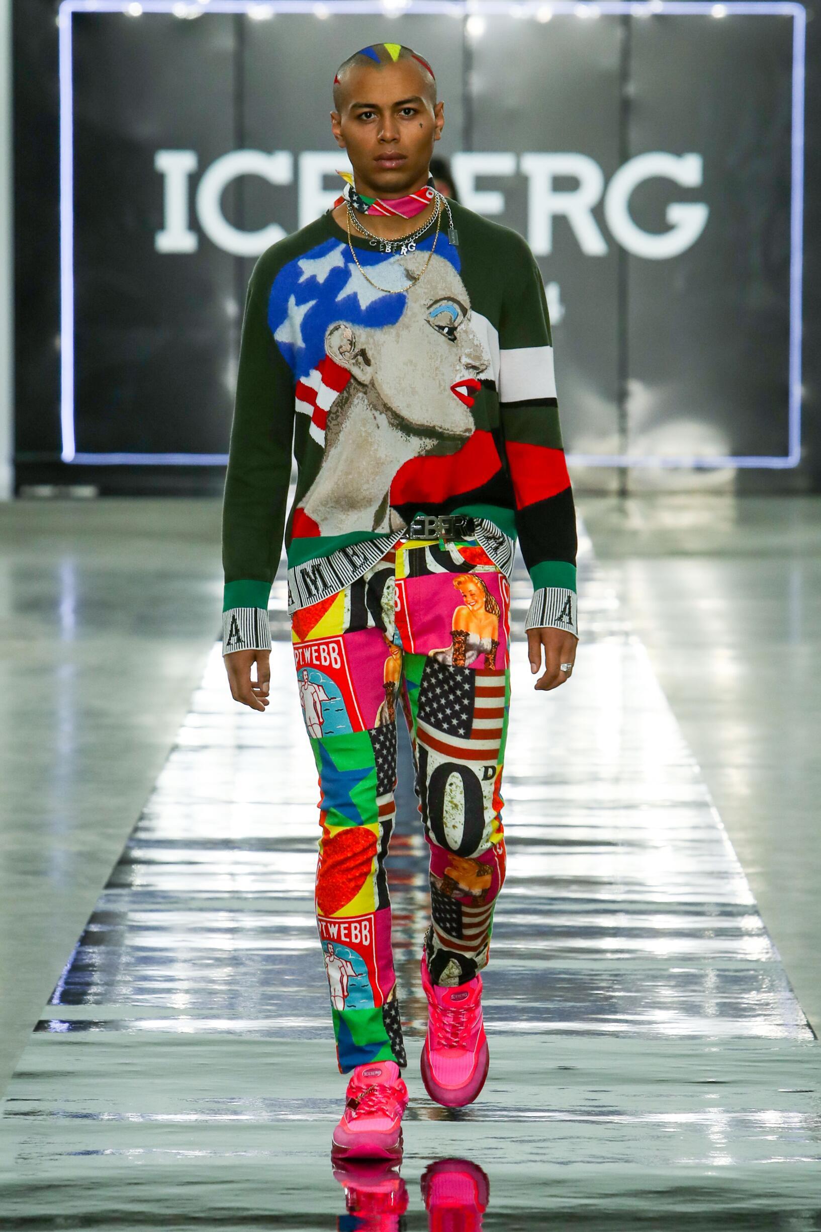 Iceberg Fashion Show SS 2020