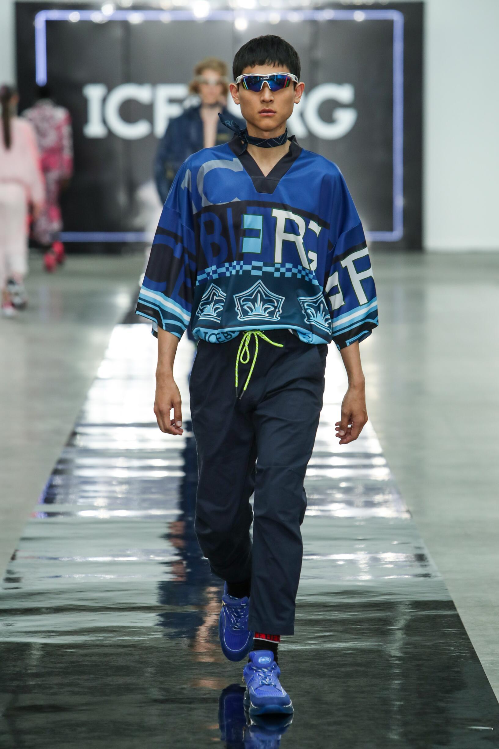 Iceberg London Fashion Week Menswear