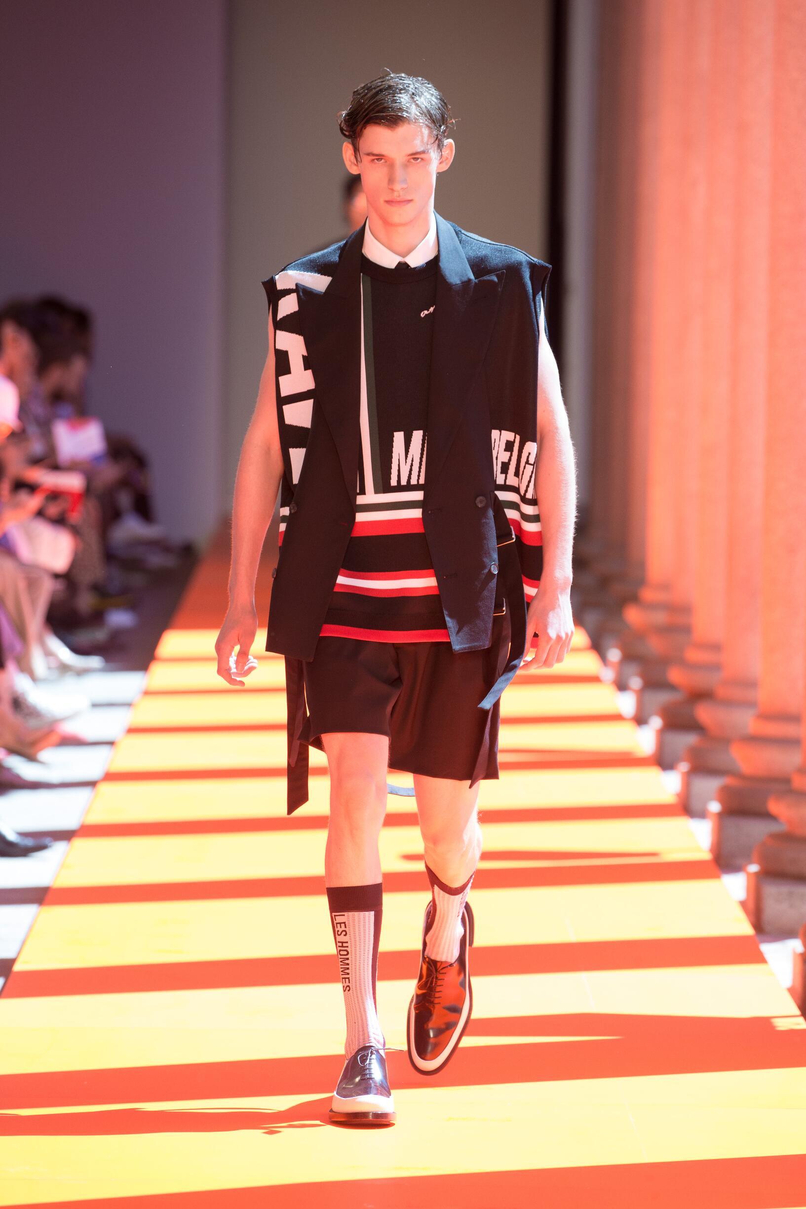 Les Hommes Fashion Show SS 2020
