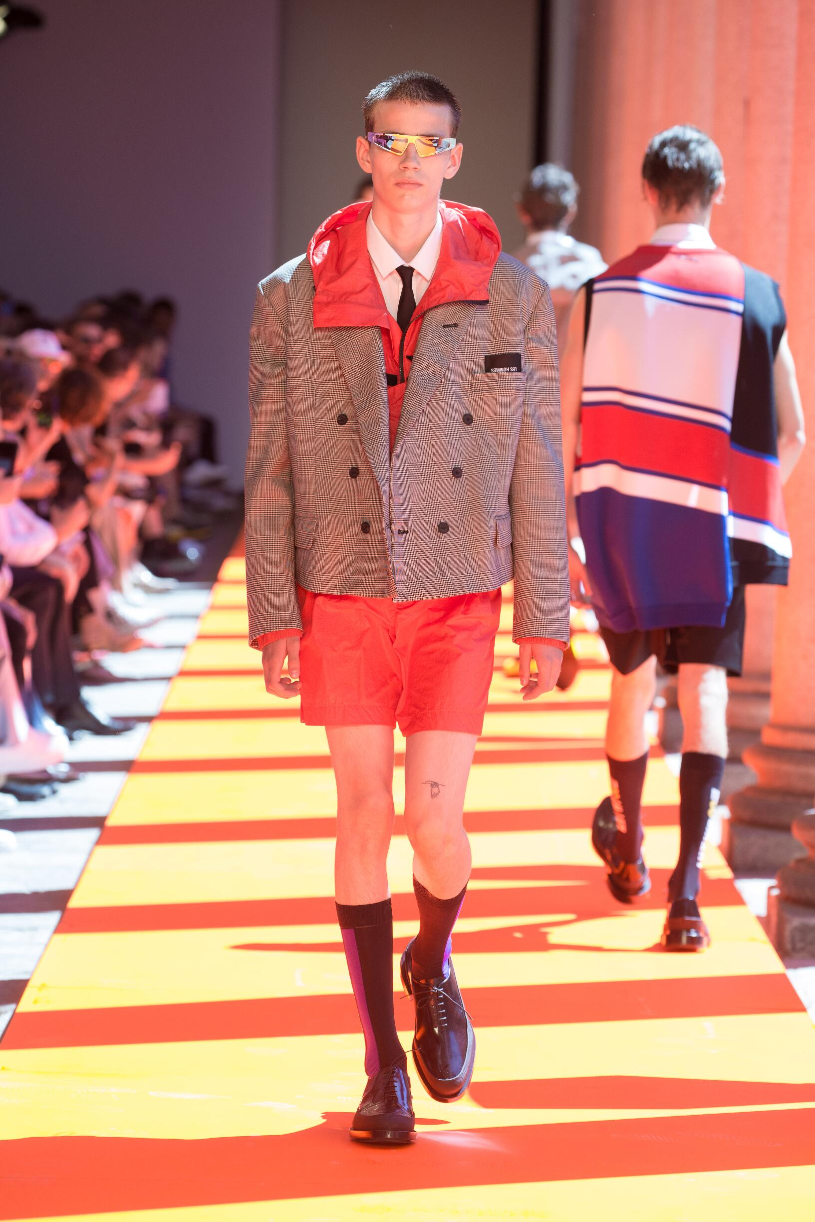 Les Hommes Spring Summer 2020 Mens Collection Milan Fashion Week