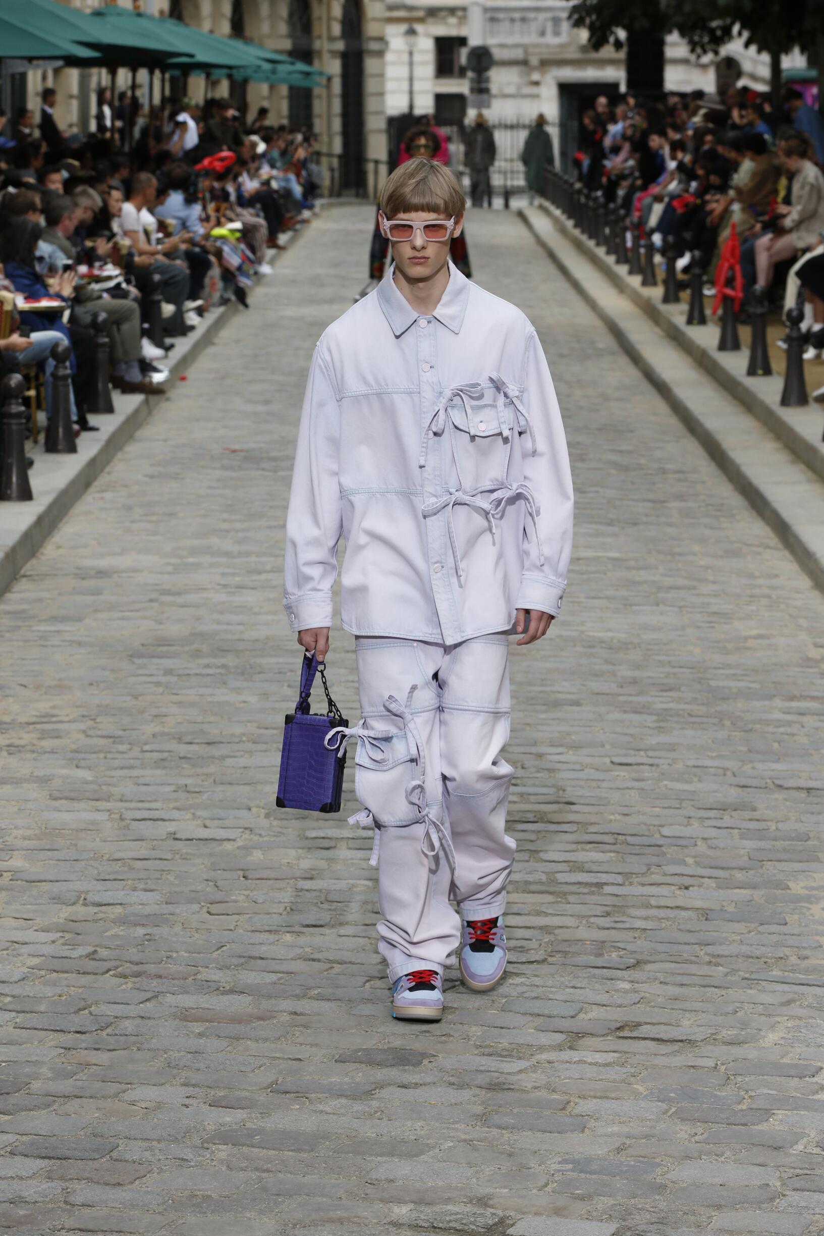 Louis Vuitton Paris Fashion Week Menswear