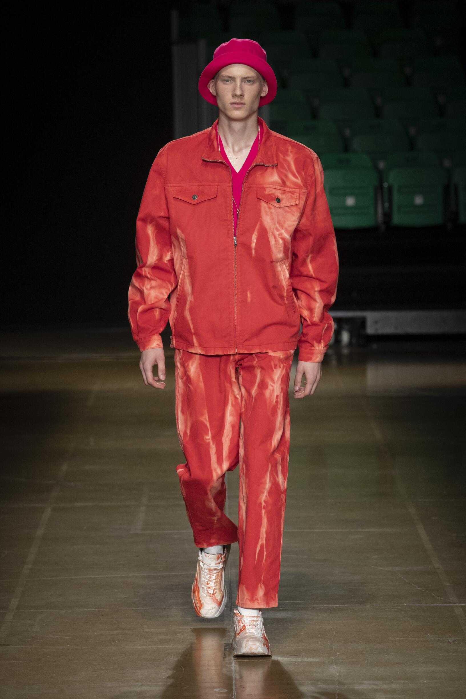 MSGM Menswear Collection Trends