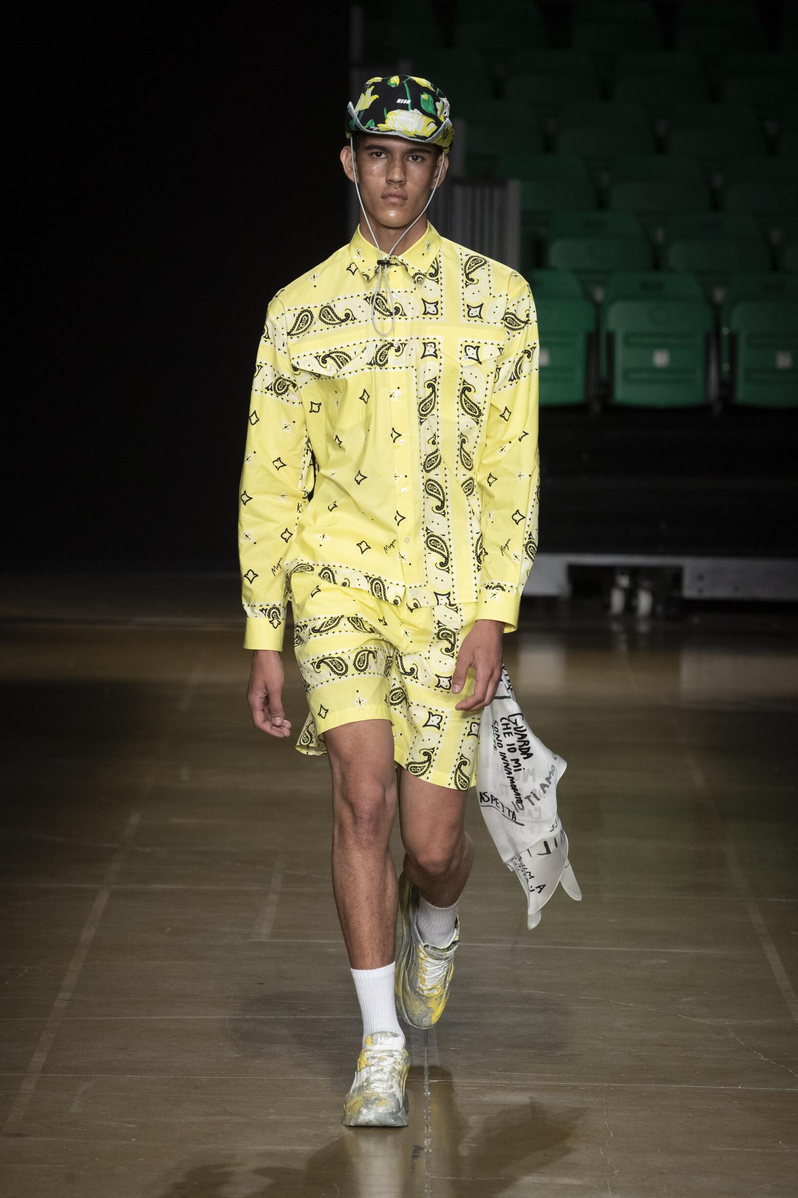 MSGM Spring Summer 2020 Mens Collection Pitti Immagine