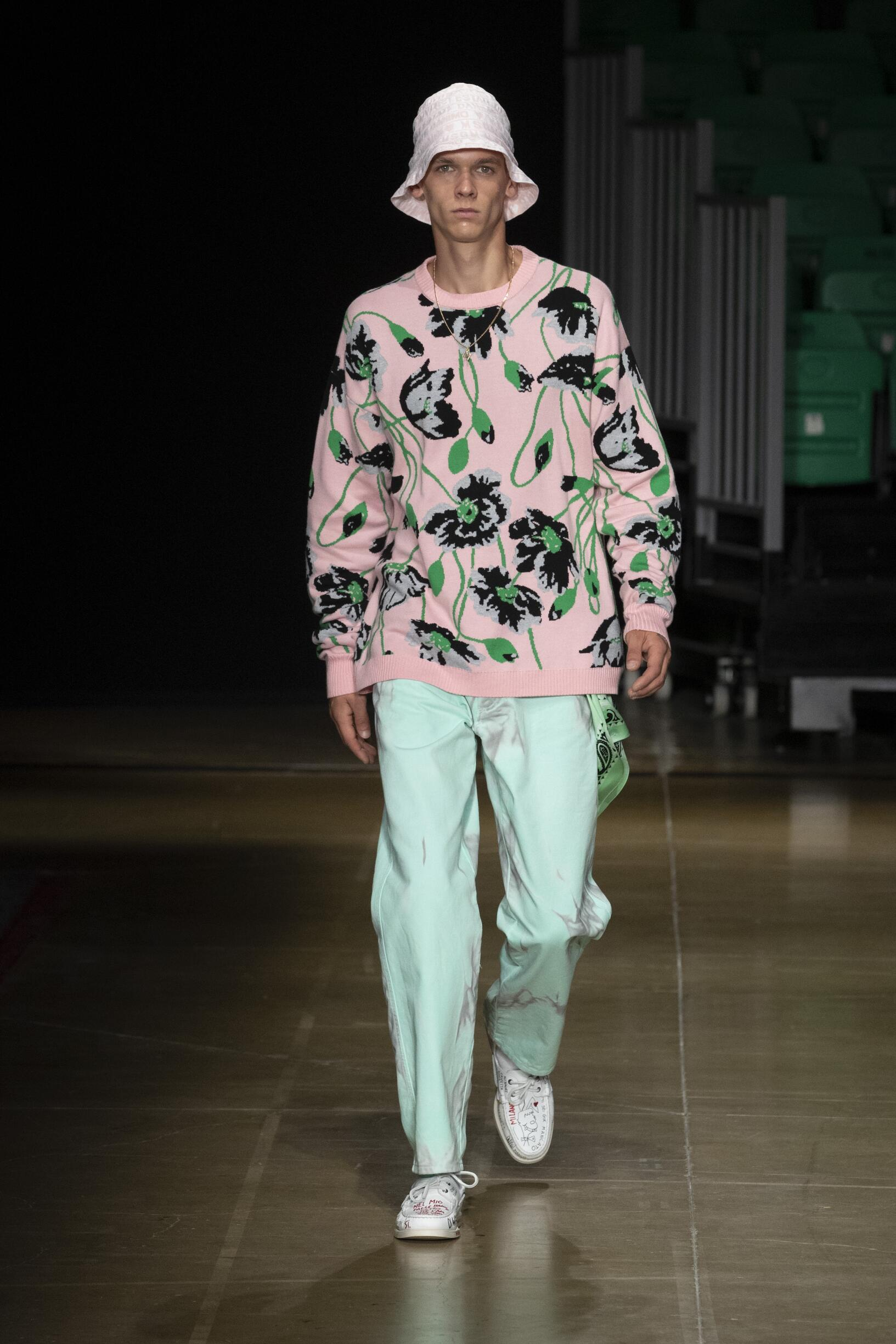 MSGM Summer 2020 Catwalk