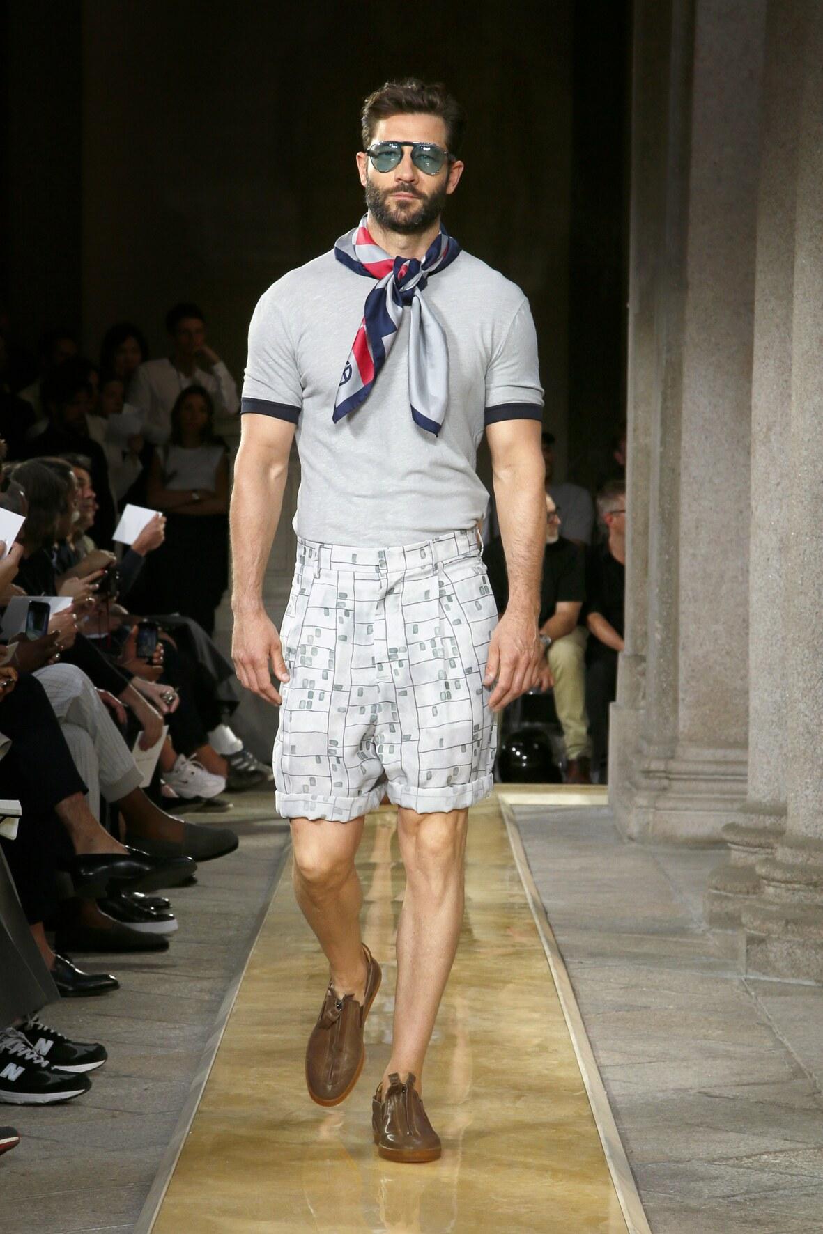 Man SS 2020 Giorgio Armani Show Milan Fashion