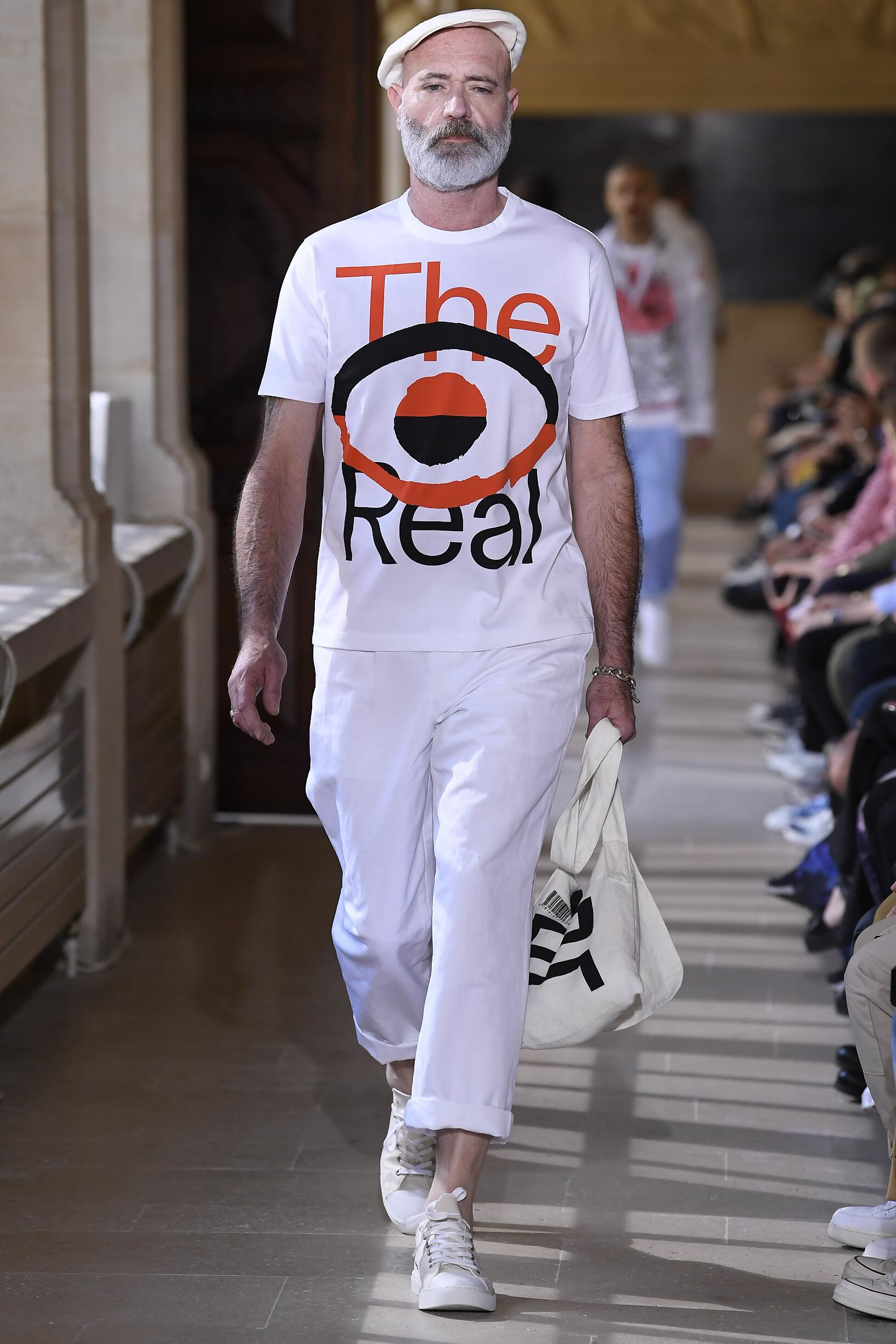 Man SS 2020 Junya Watanabe Show Paris Fashion Week