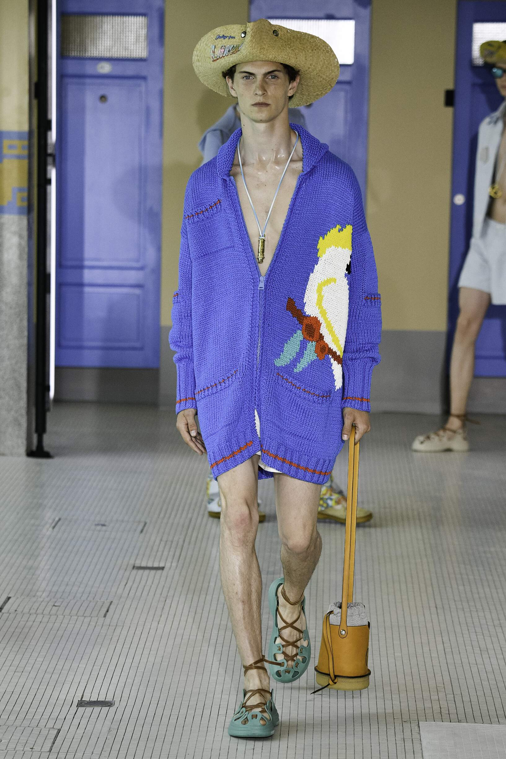 Man SS 2020 Lanvin Show Paris Fashion Week