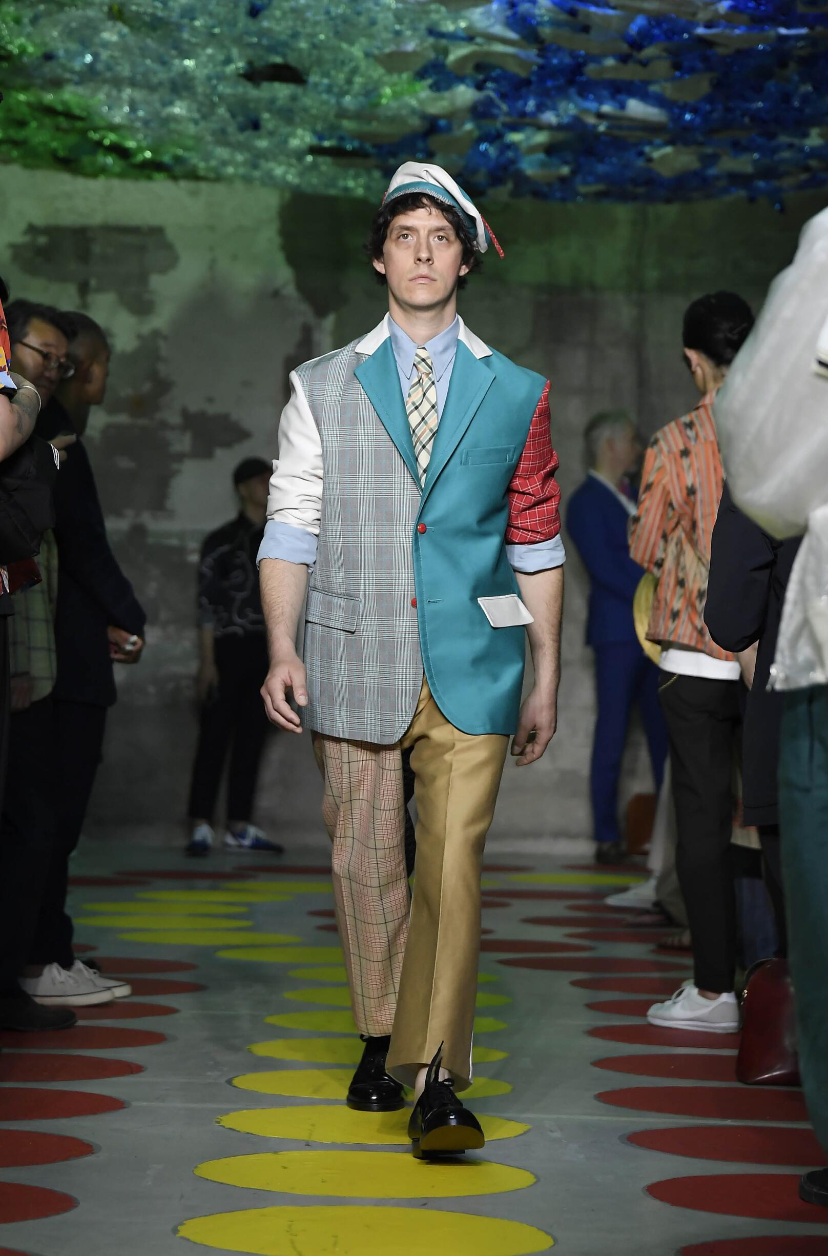 Man SS 2020 Marni Show Milan Fashion Week