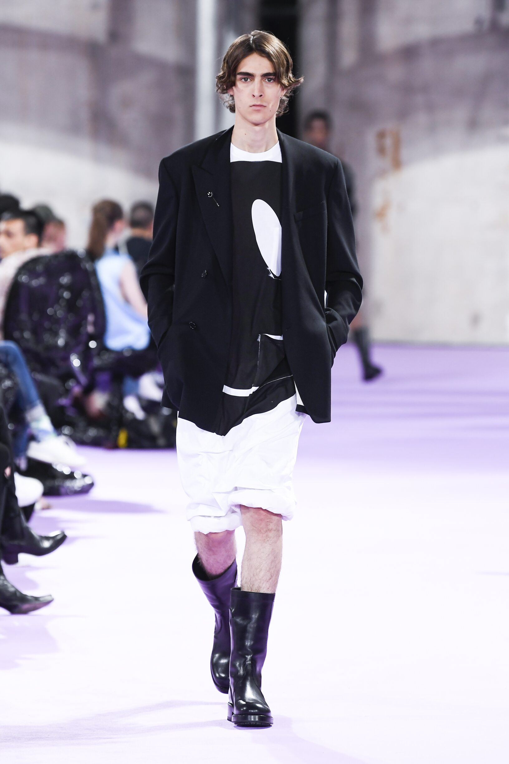 Man SS 2020 Raf Simons Show Paris Fashion Week