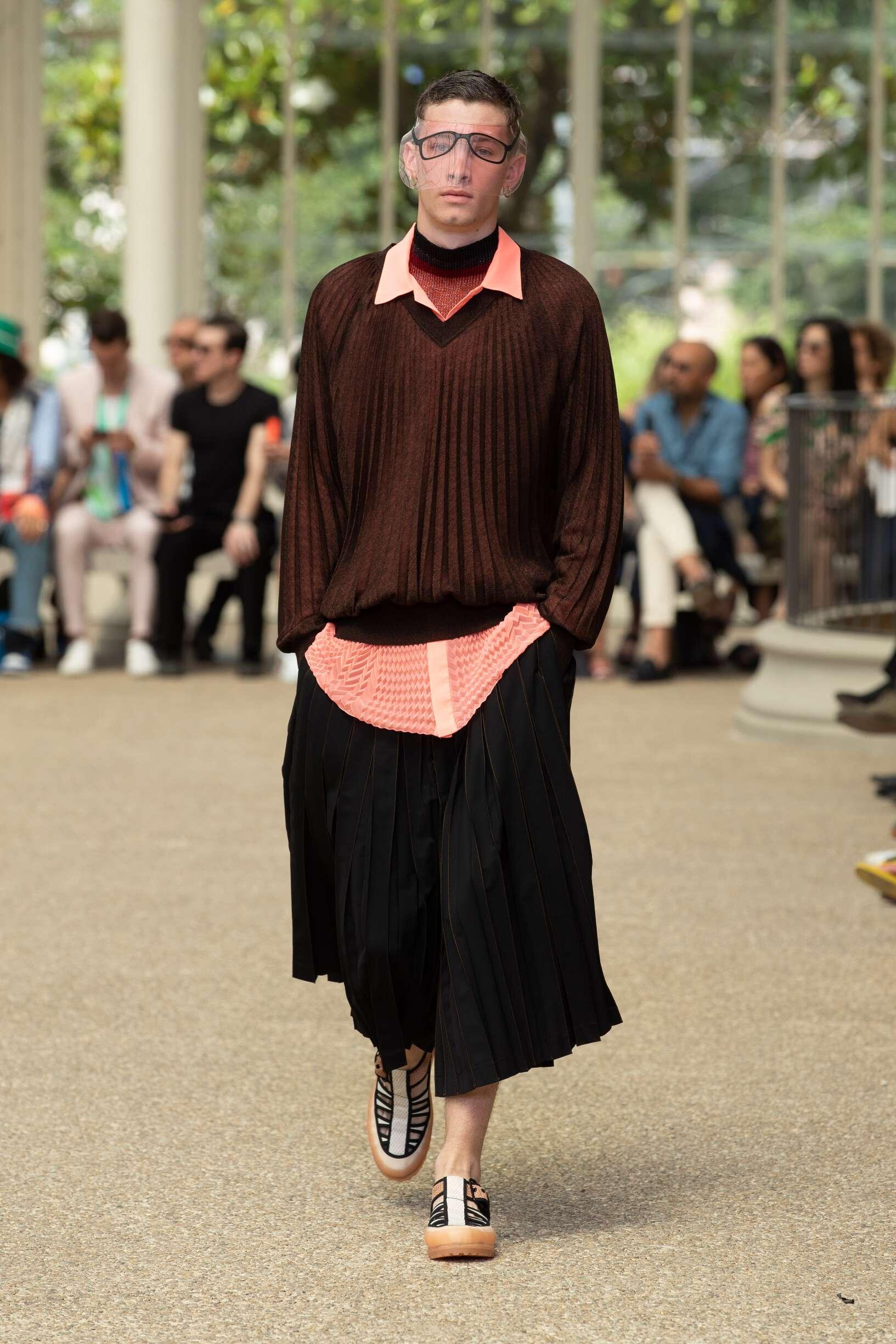 Marco De vincenzo Pitti Immagine Menswear