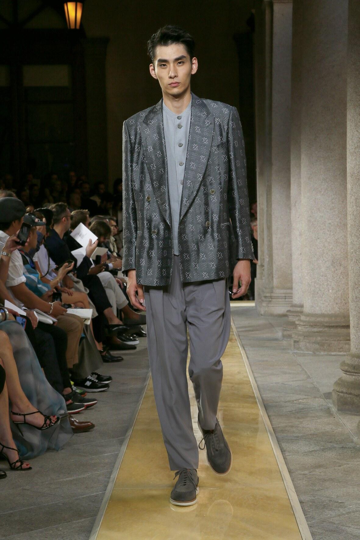 Menswear Fashion 2020 Catwalk Giorgio Armani