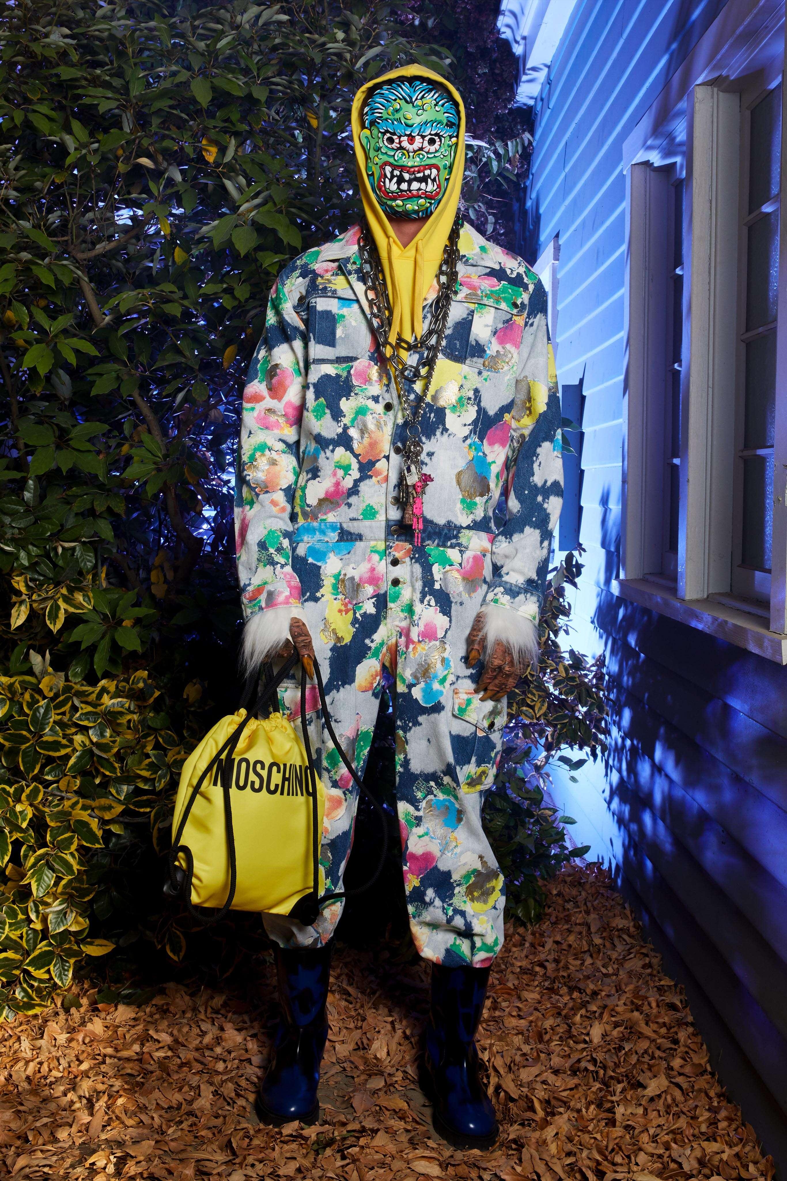 Menswear Fashion 2020 Catwalk Moschino
