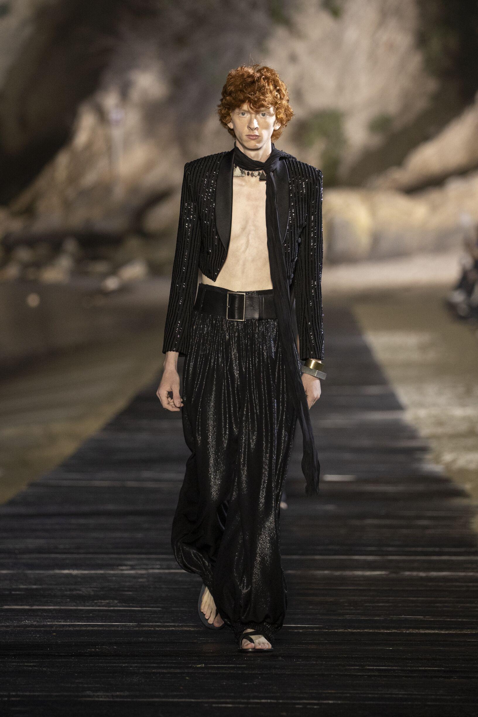 Menswear Fashion 2020 Catwalk Saint Laurent