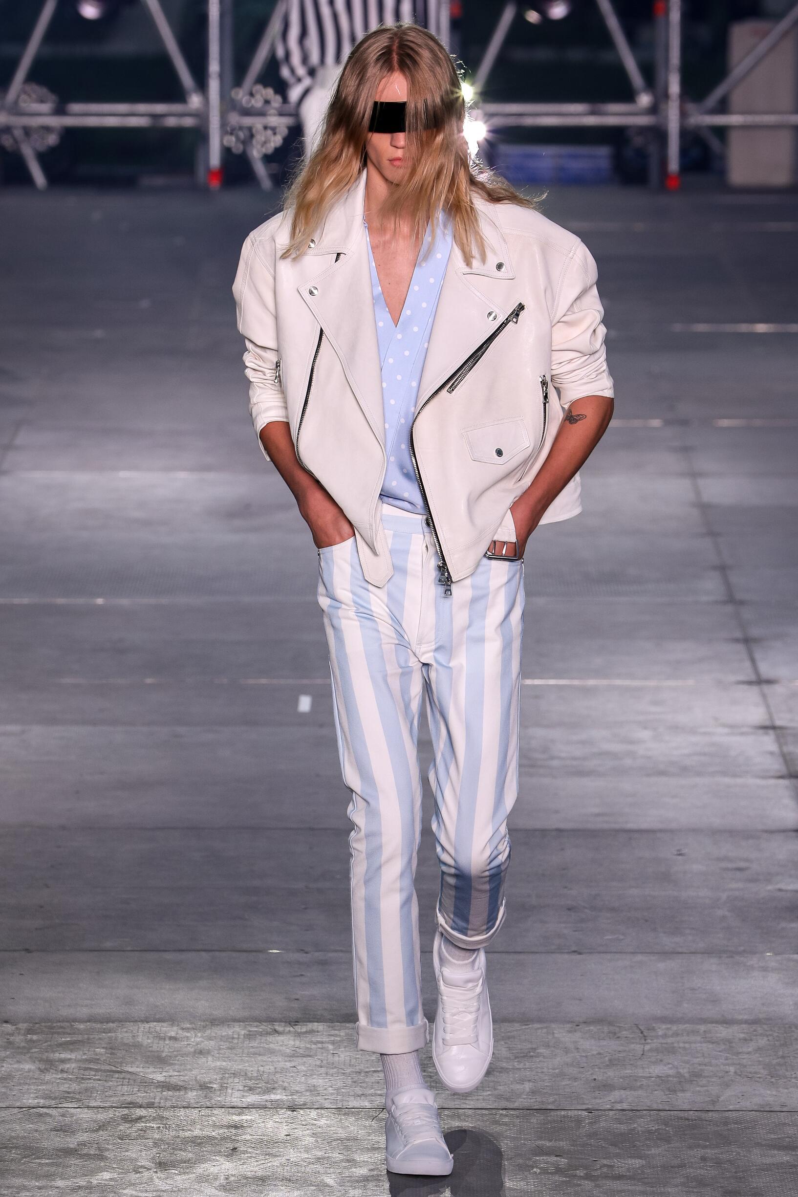 Menswear SS Balmain 2020