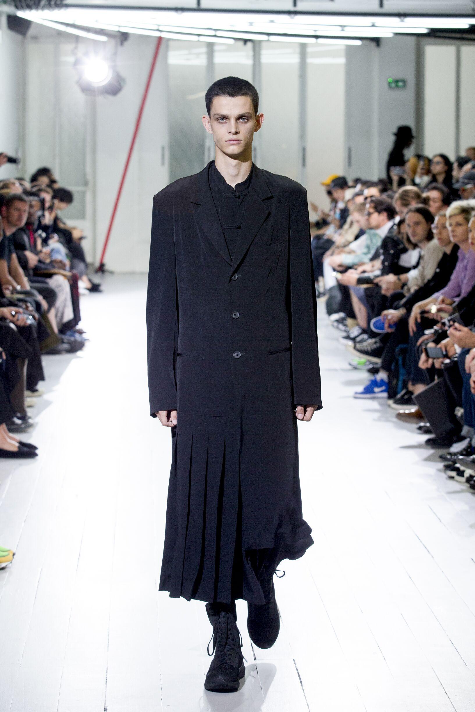 Menswear SS Yohji Yamamoto 2020