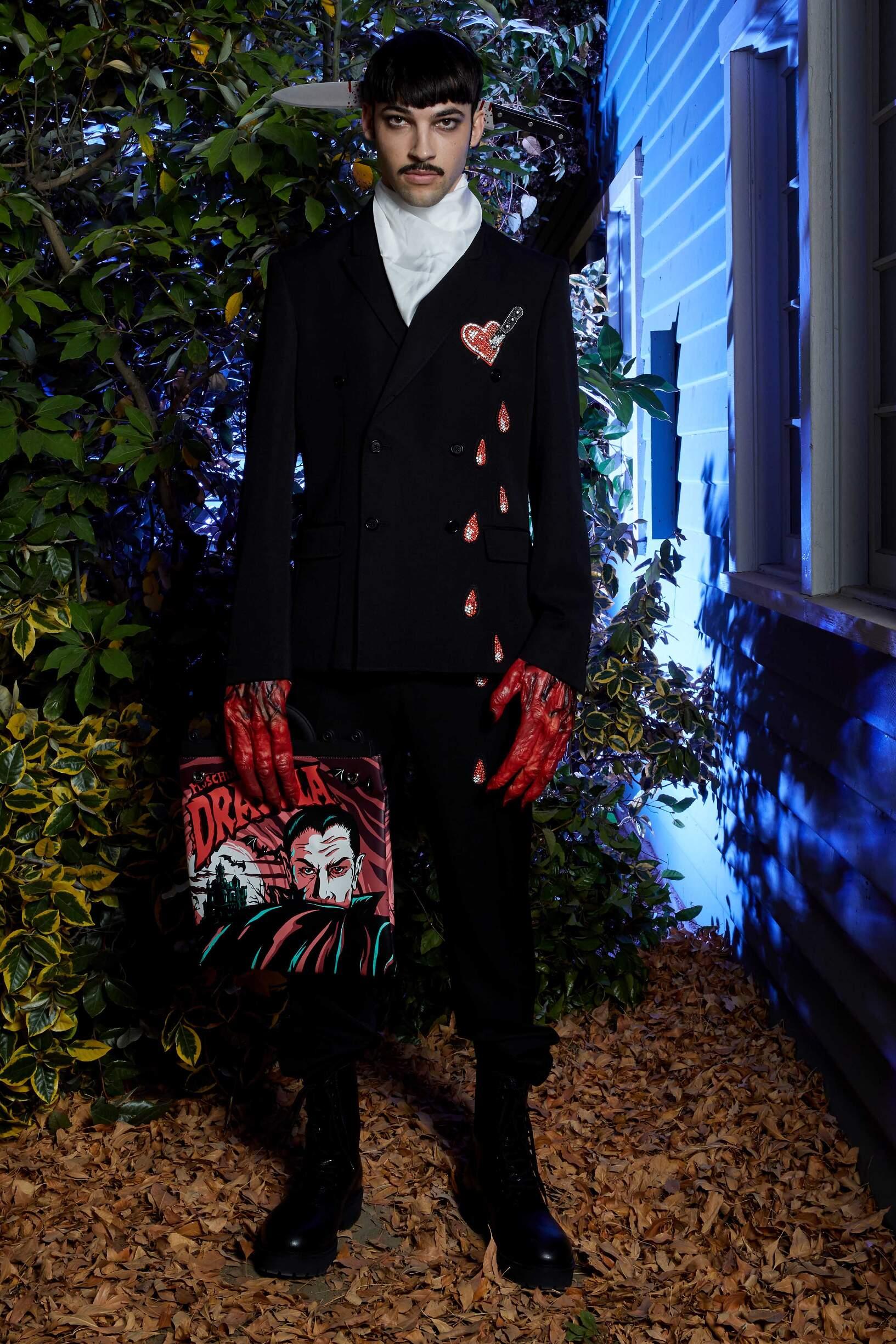 Menswear Spring Collection Moschino 2020