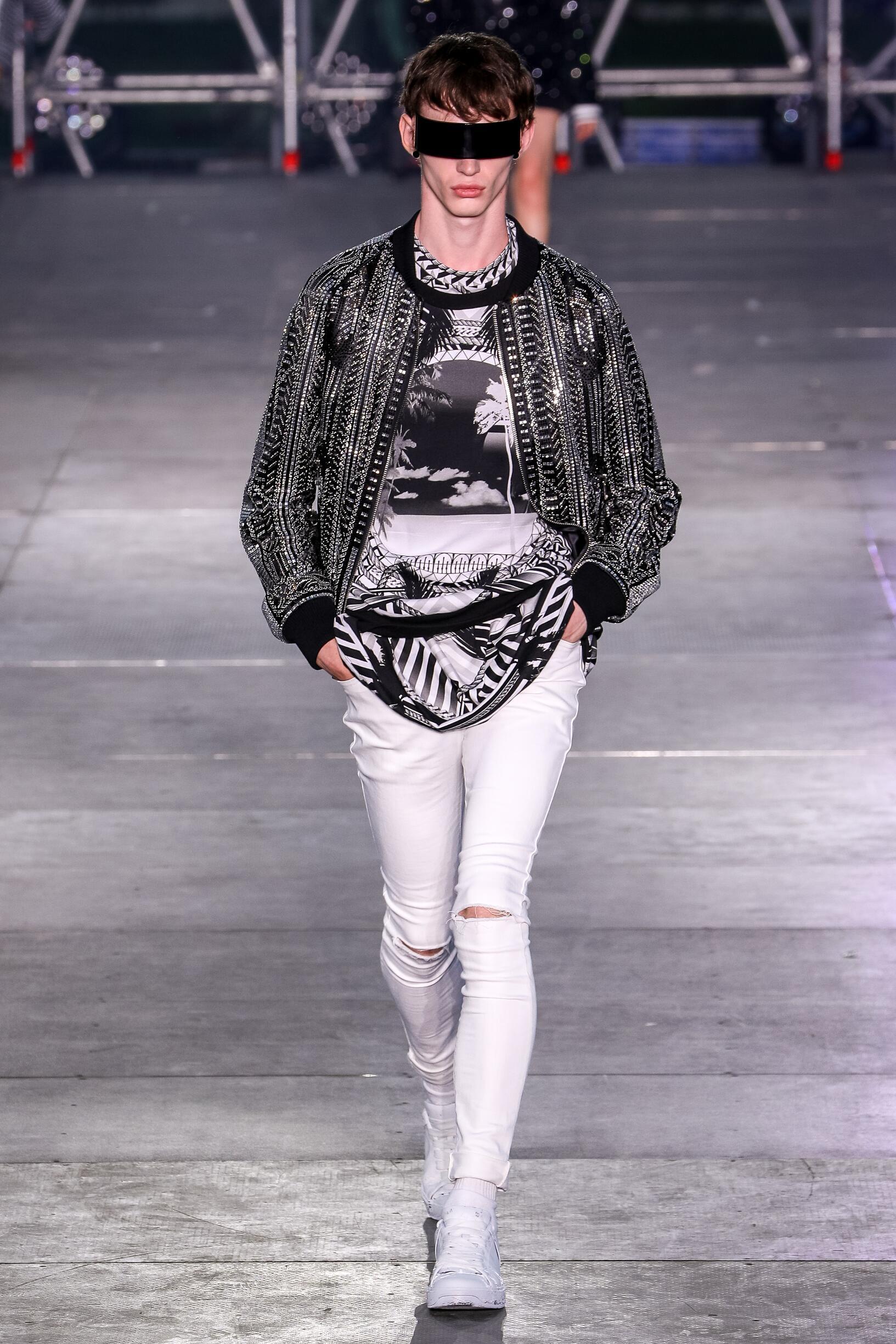 Menswear Spring Summer Balmain 2020 Trends