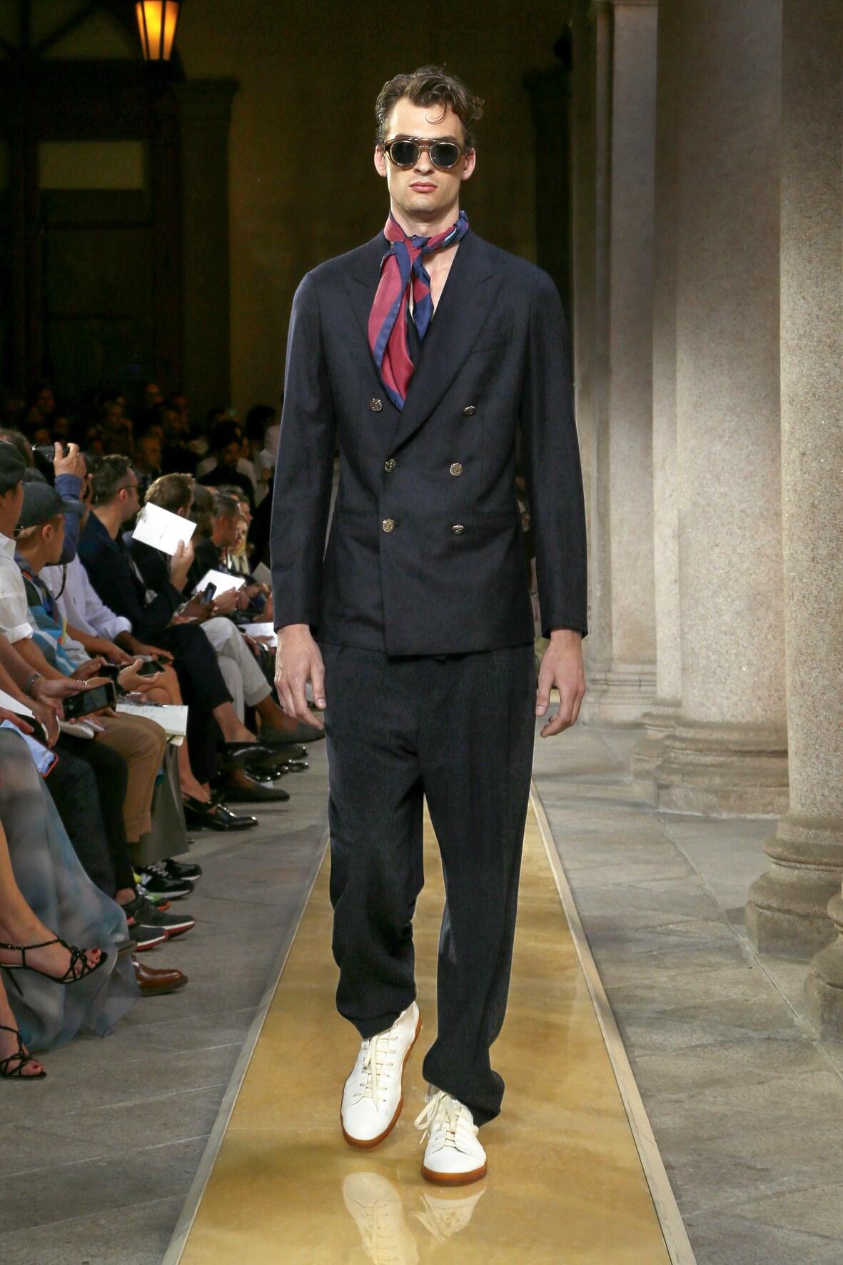 Menswear Spring Summer Giorgio Armani 2020 Trends