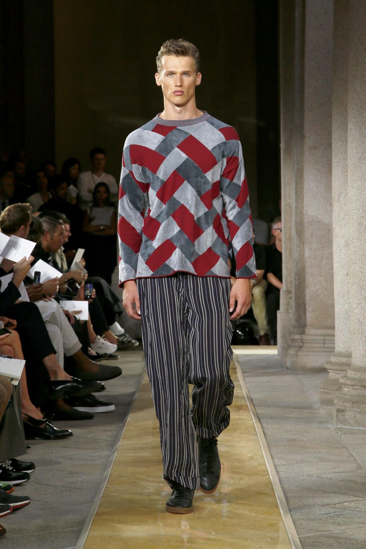 Menswear Spring Summer Giorgio Armani 2020