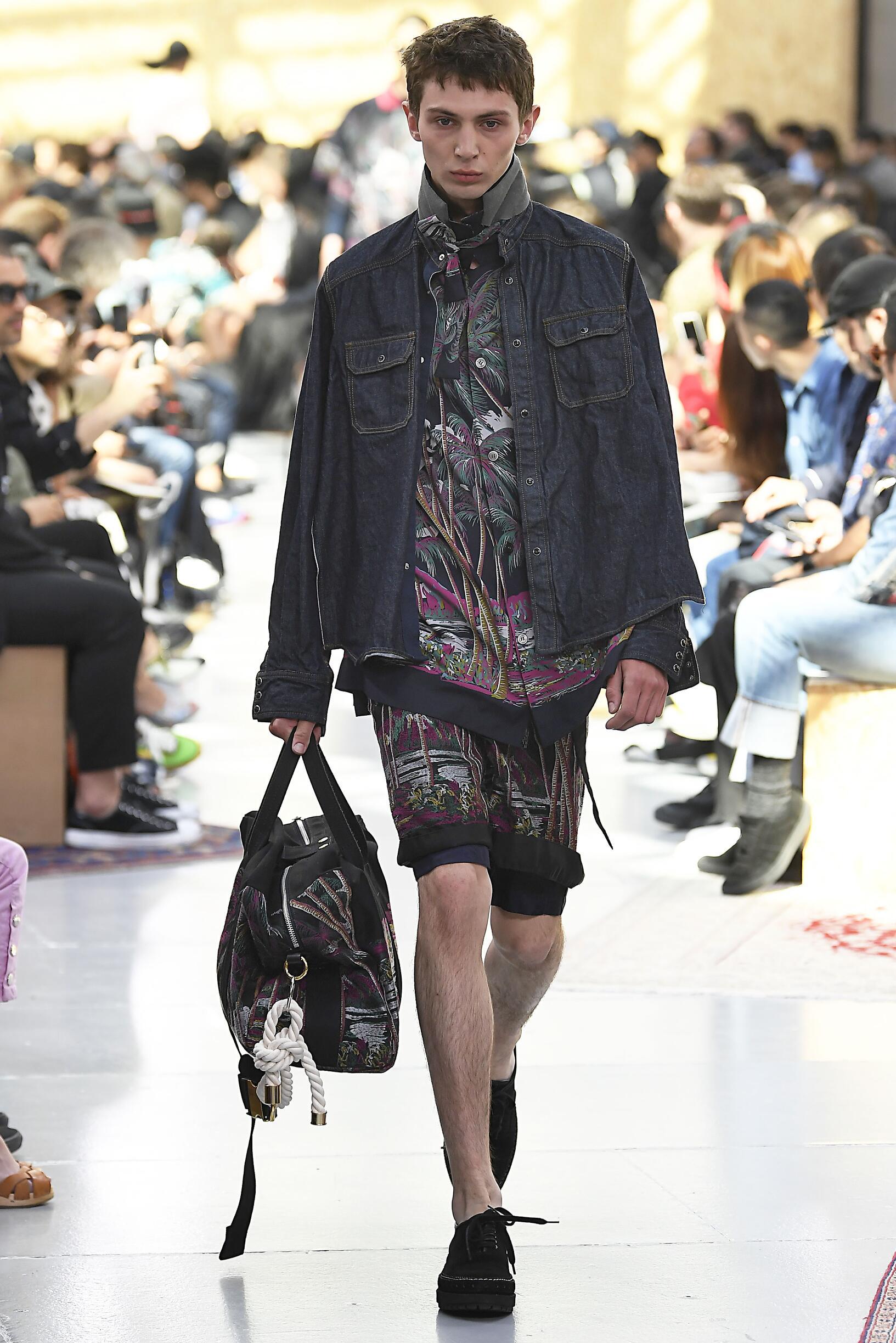 Menswear Spring Summer Sacai 2020 Trends
