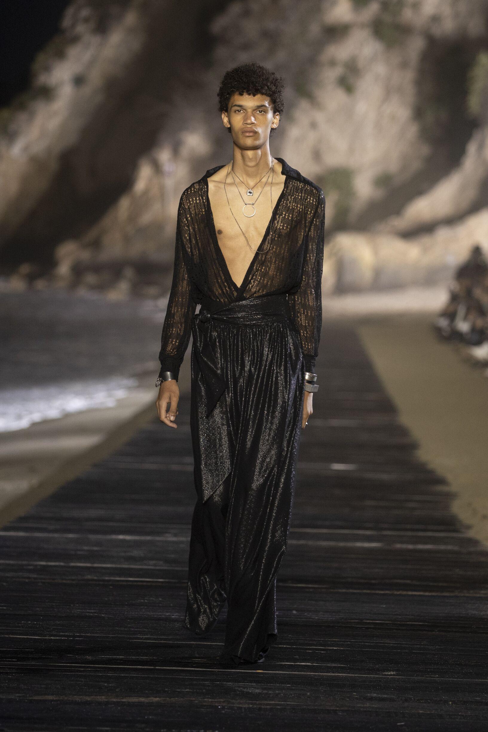Menswear Spring Summer Saint Laurent 2020 Malibu