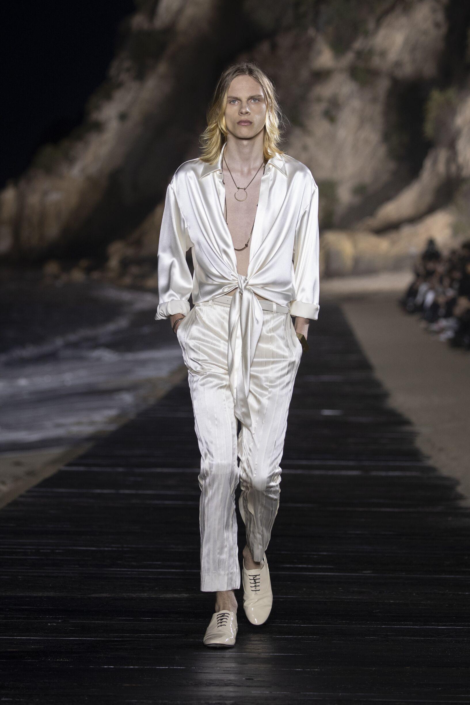 Menswear Spring Summer Saint Laurent 2020