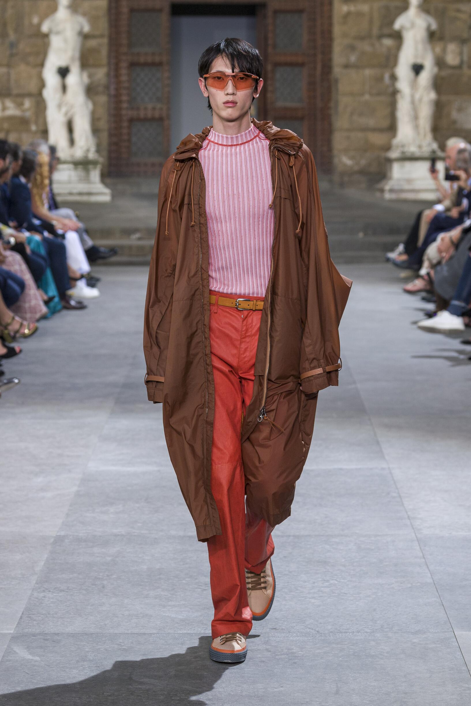 Menswear Spring Summer Salvatore Ferragamo 2020