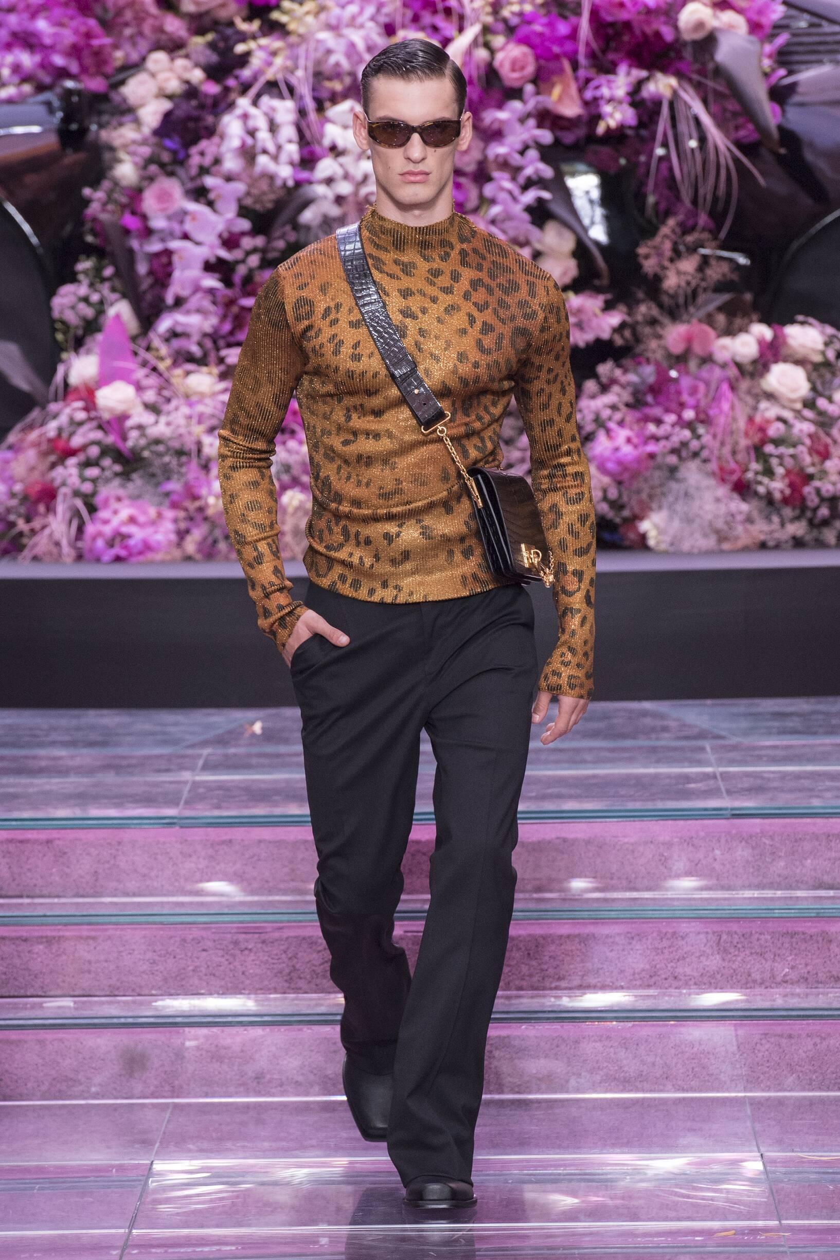 Menswear Spring Summer Versace 2020 Trends