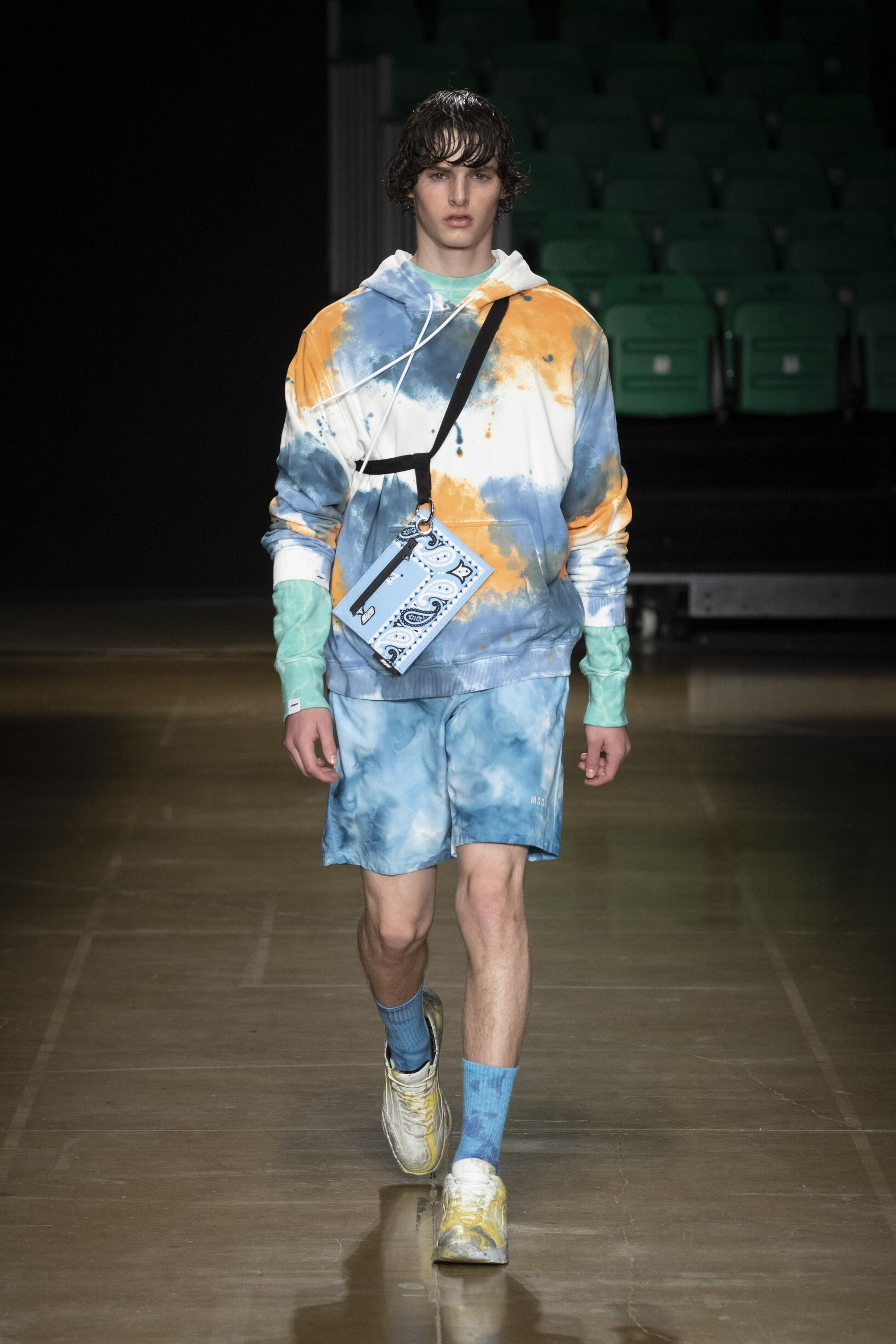 Menswear Summer MSGM 2020