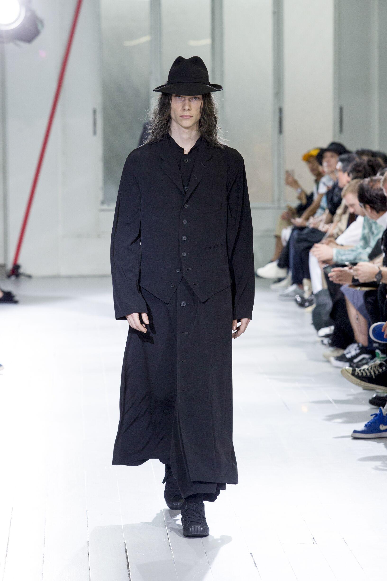 Menswear Summer Yohji Yamamoto 2020