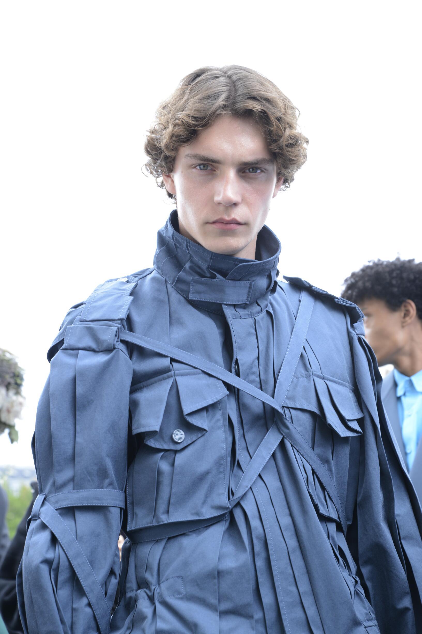 Model Backstage Louis Vuitton Spring Summer 2020 Collection Paris Fashion Week