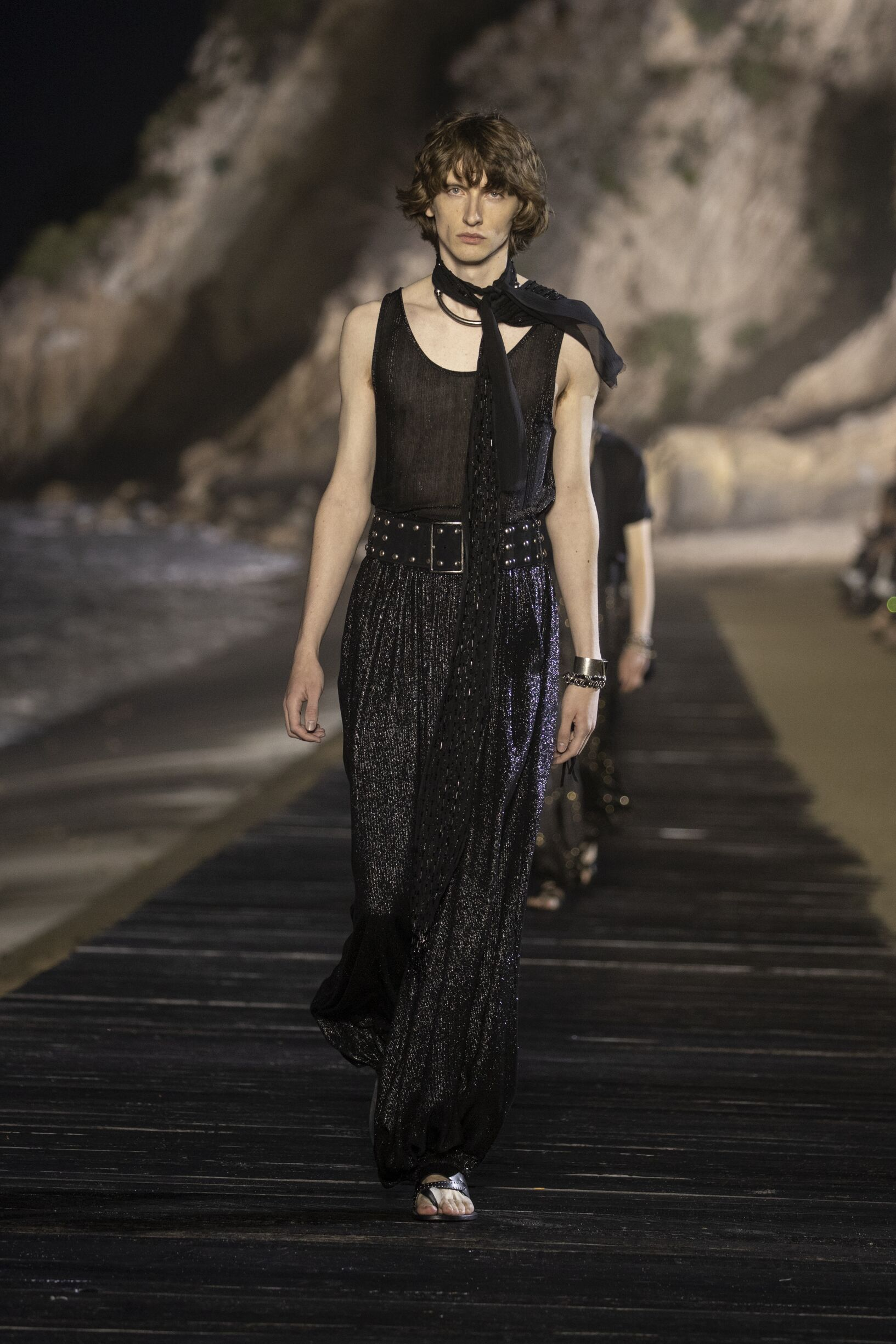 Model Fashion Show 2020 Catwalk Saint Laurent