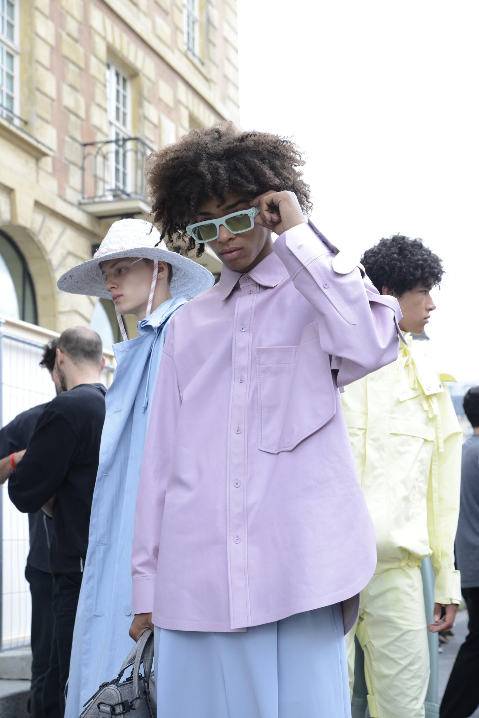 Models 2020 Fashion Backstage Louis Vuitton