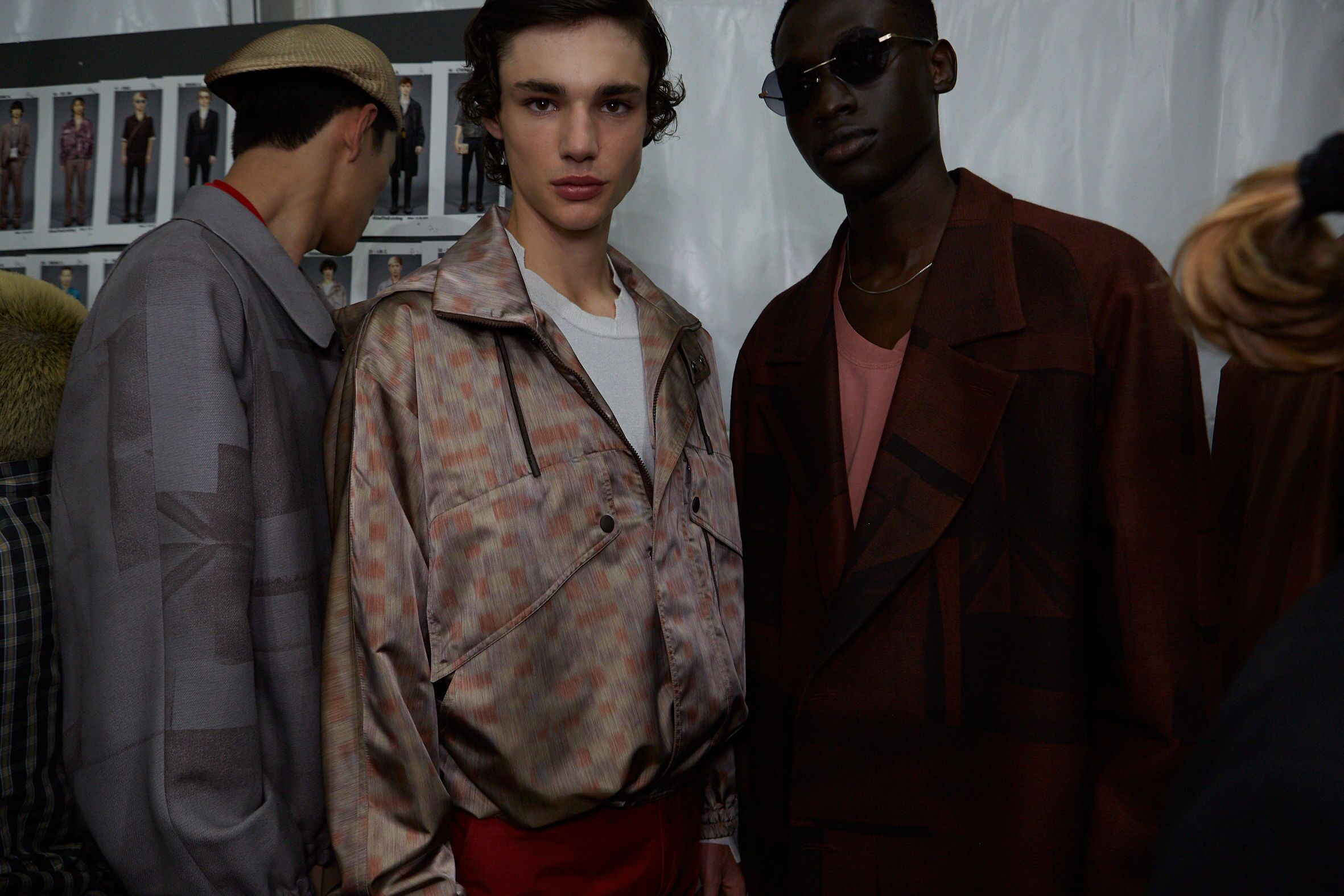 Models Backstage Ermenegildo Zegna XXX Spring Summer 2020 Men's Collection Milan Fashion Week