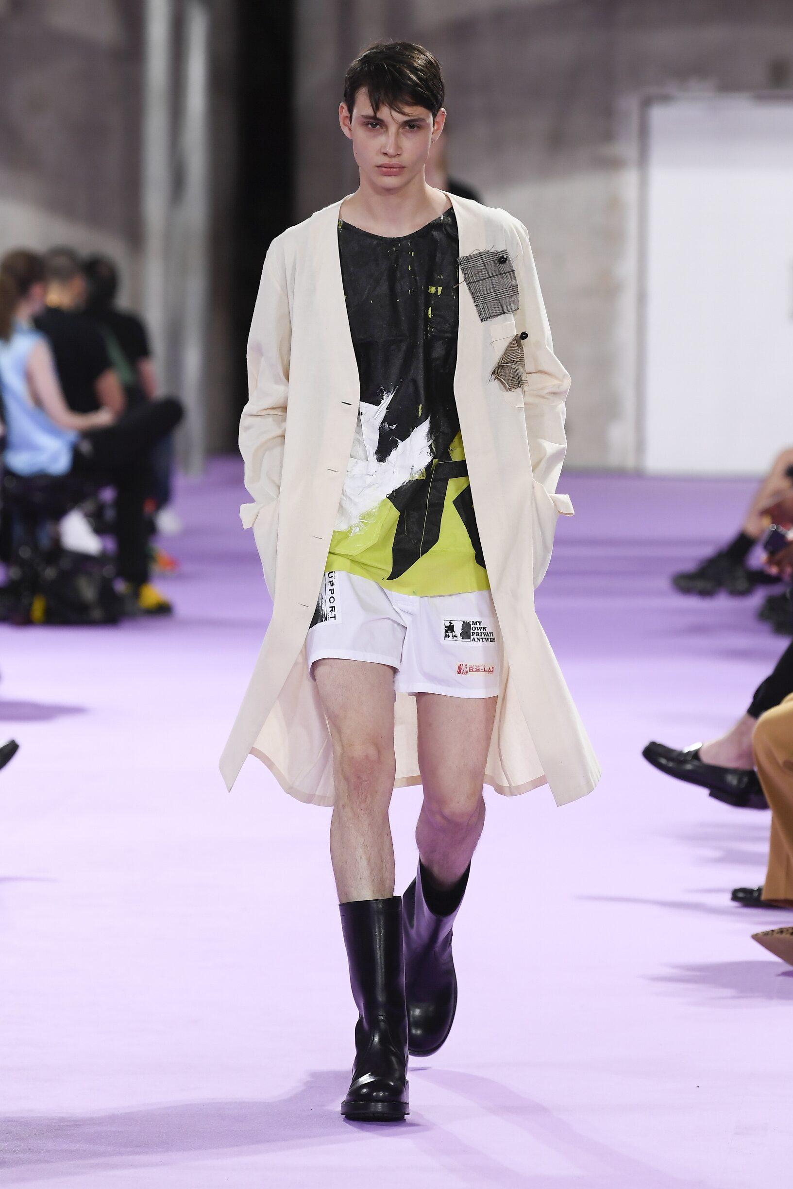 Raf Simons Fashion Show SS 2020