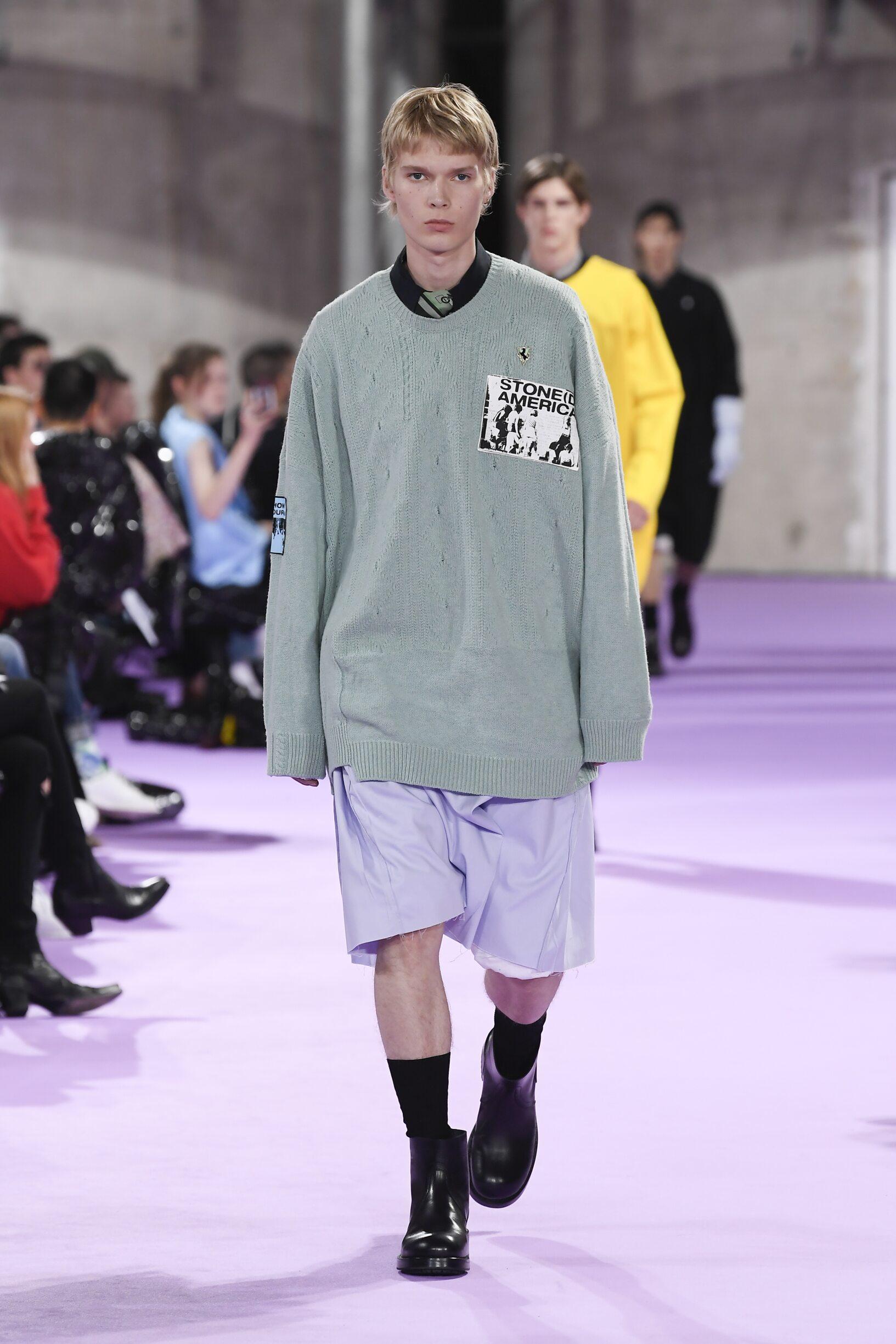 Raf Simons Paris Fashion Week Menswear