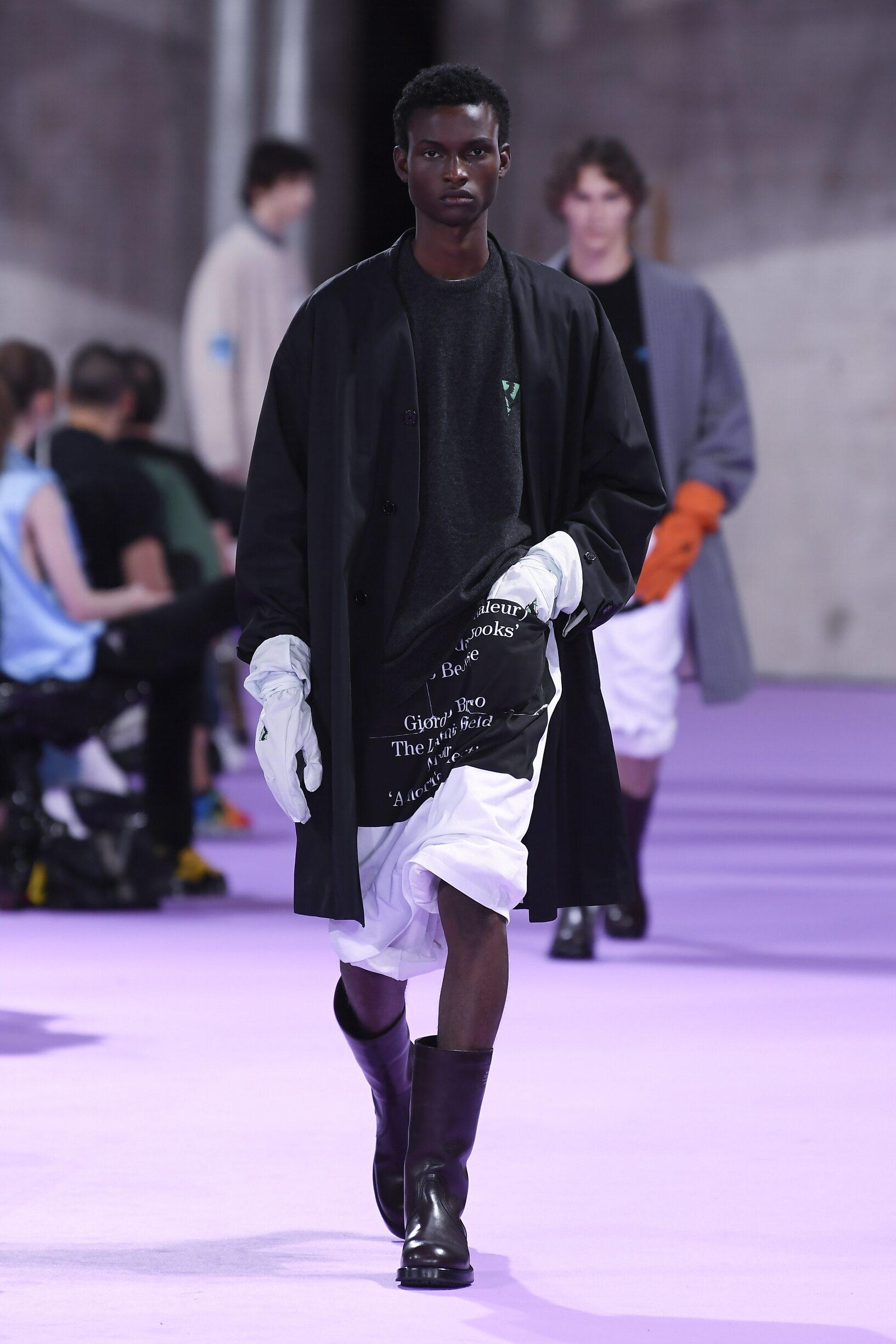 Raf Simons SS 2020 Menswear