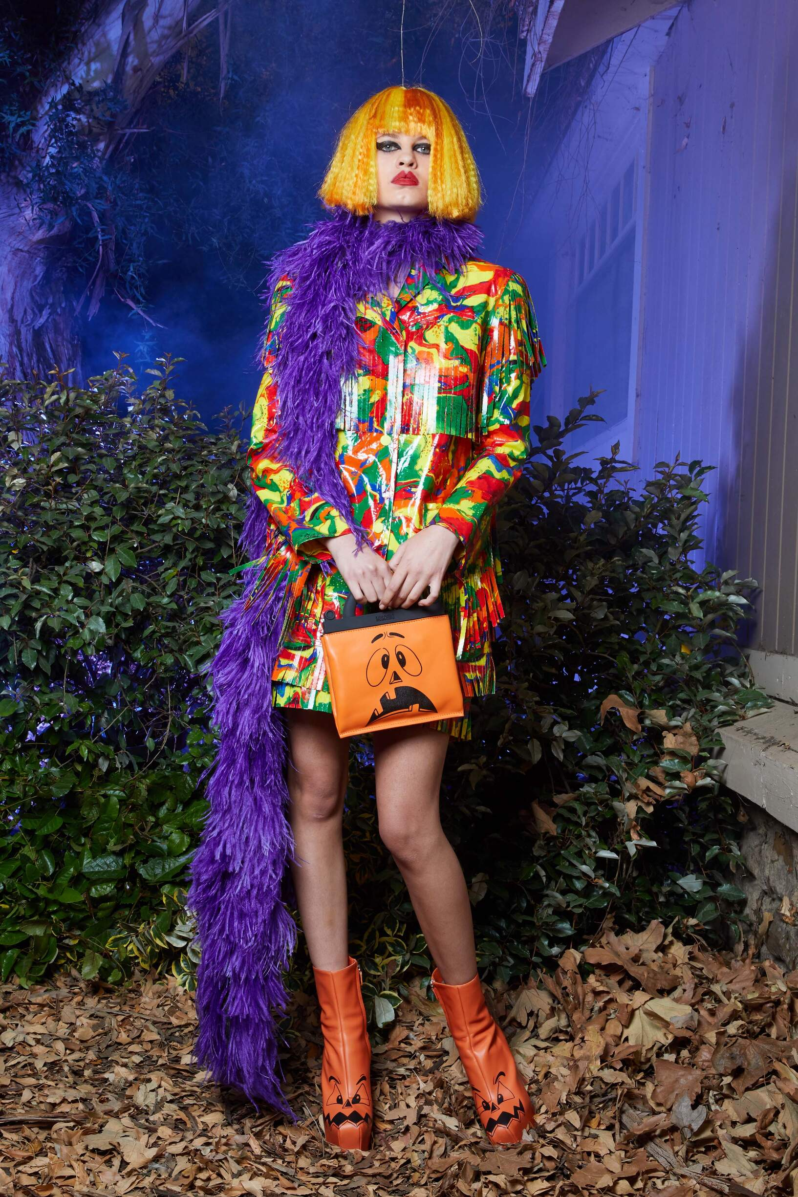 Resort 2020 Woman Los Angeles Moschino Collection