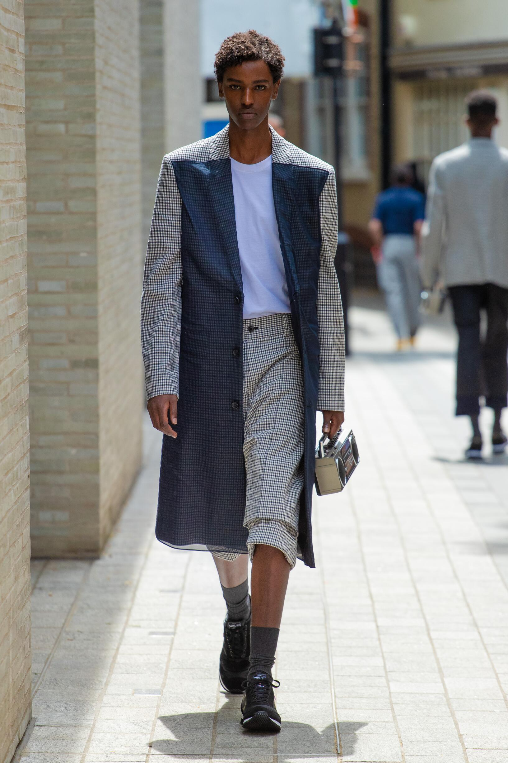 Runway Chalayan Spring Summer 2020 Men's Collection London Fashion Week