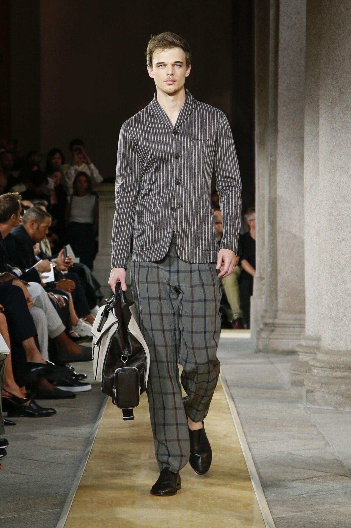 Runway Giorgio Armani Spring Summer 2020 Men's Collection Milan Fashion Week