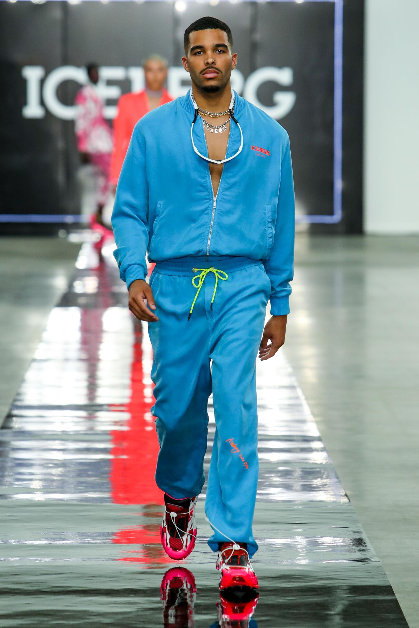 Runway Iceberg Spring Summer 2020 Men's Collection London Fashion Week
