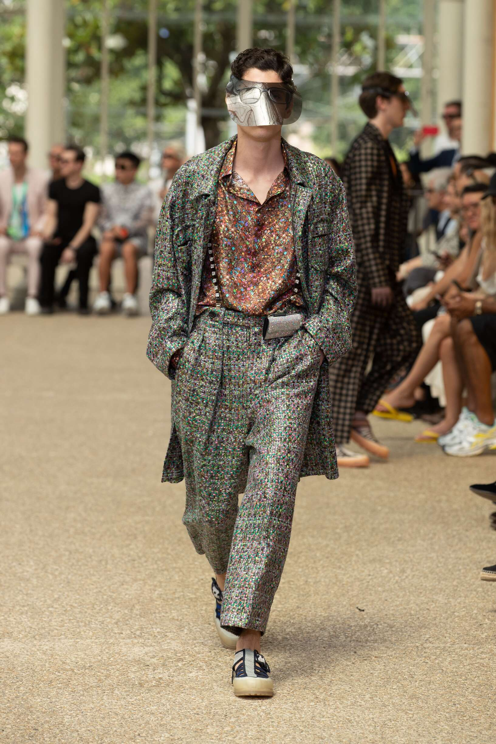 Runway Marco De vincenzo Spring Summer 2020 Men's Collection Pitti Immagine