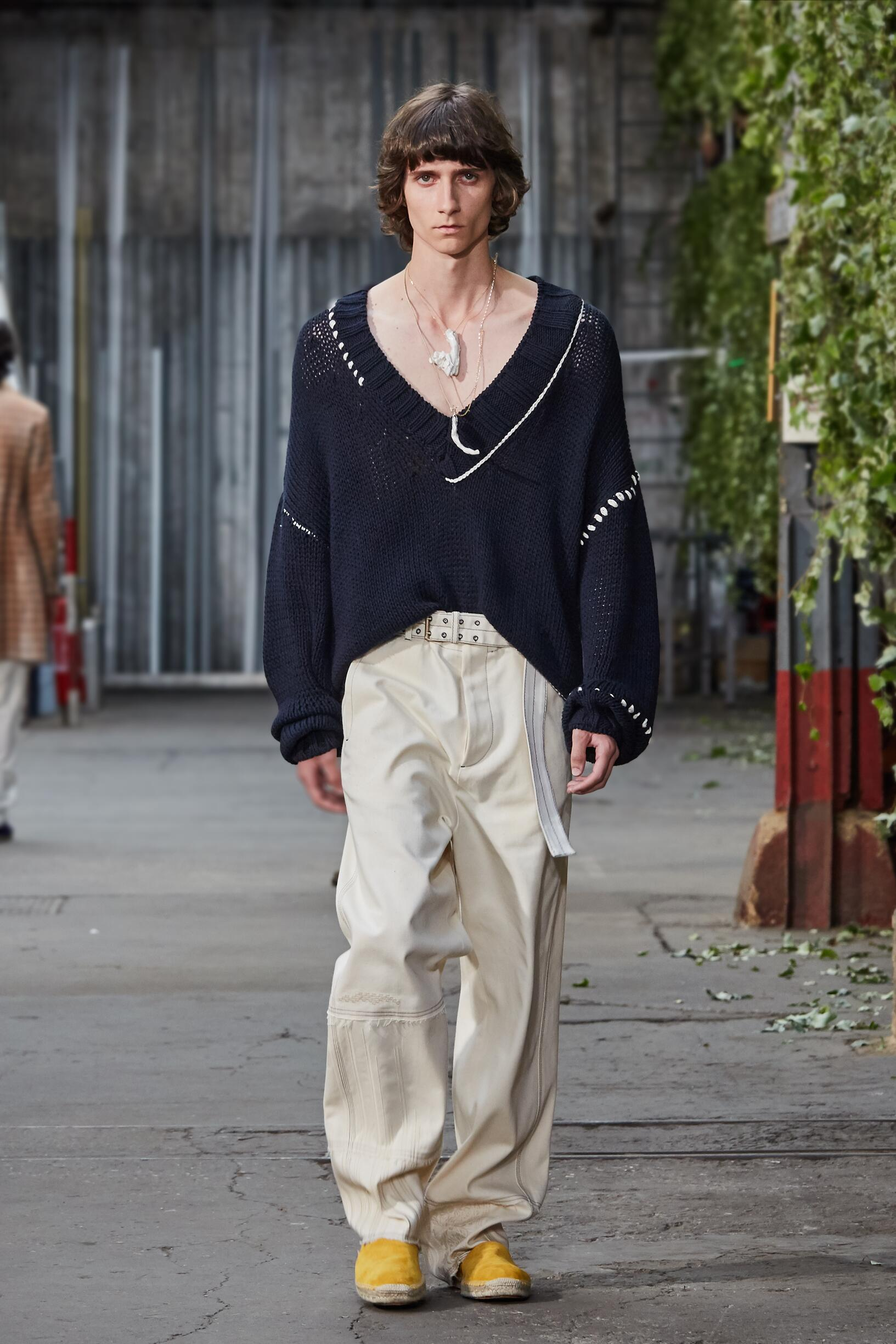 Runway Rochas Spring Summer 2020 Men's Collection Paris Fashion Week