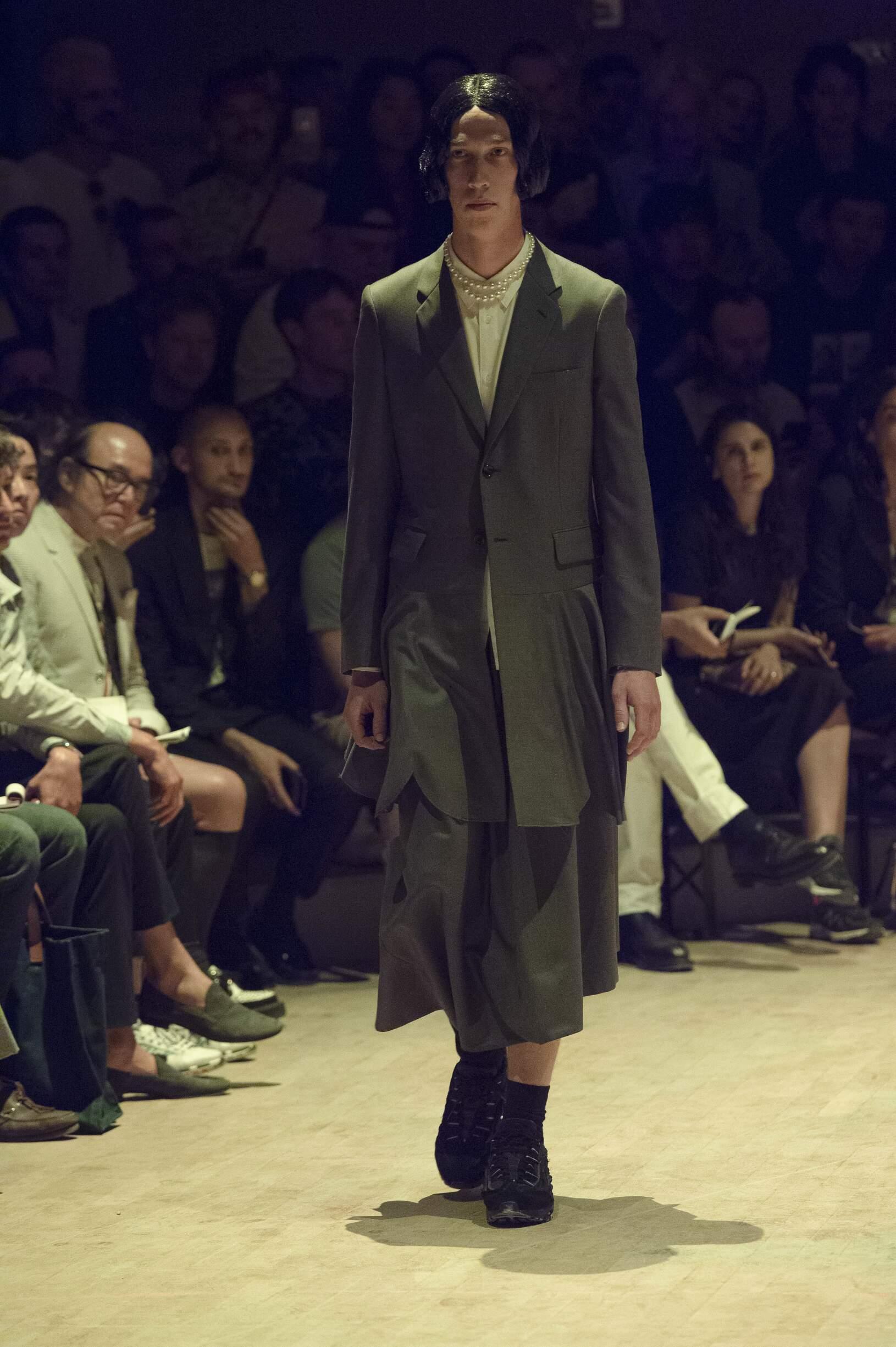 SS 2020 Comme des Garçons Homme Plus Fashion Show