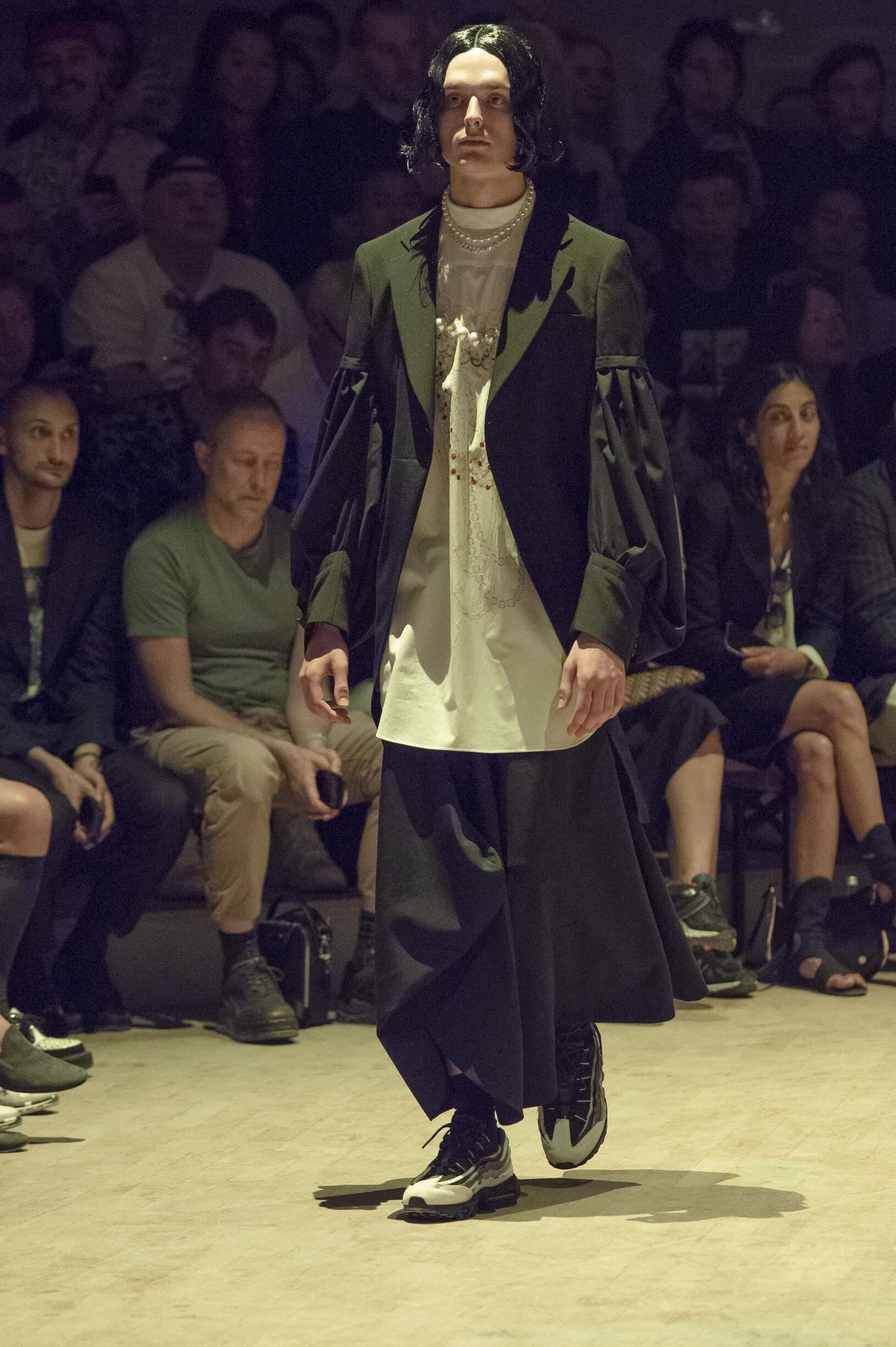 SS 2020 Fashion Show Comme des Garçons Homme Plus